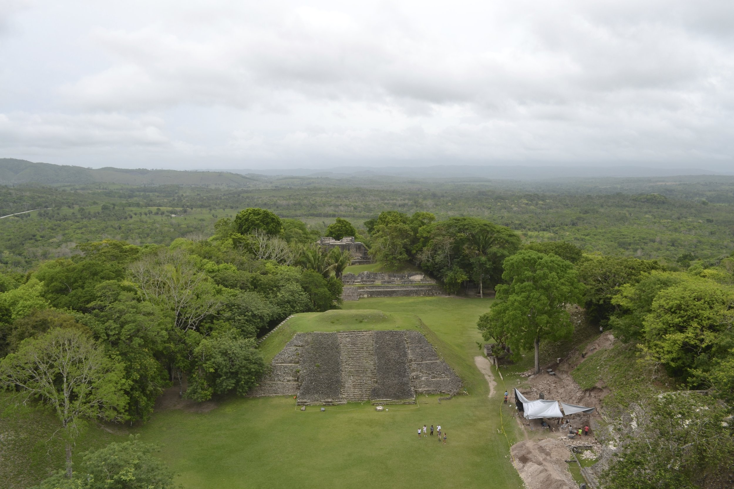 View of Xunantucinich in Belize