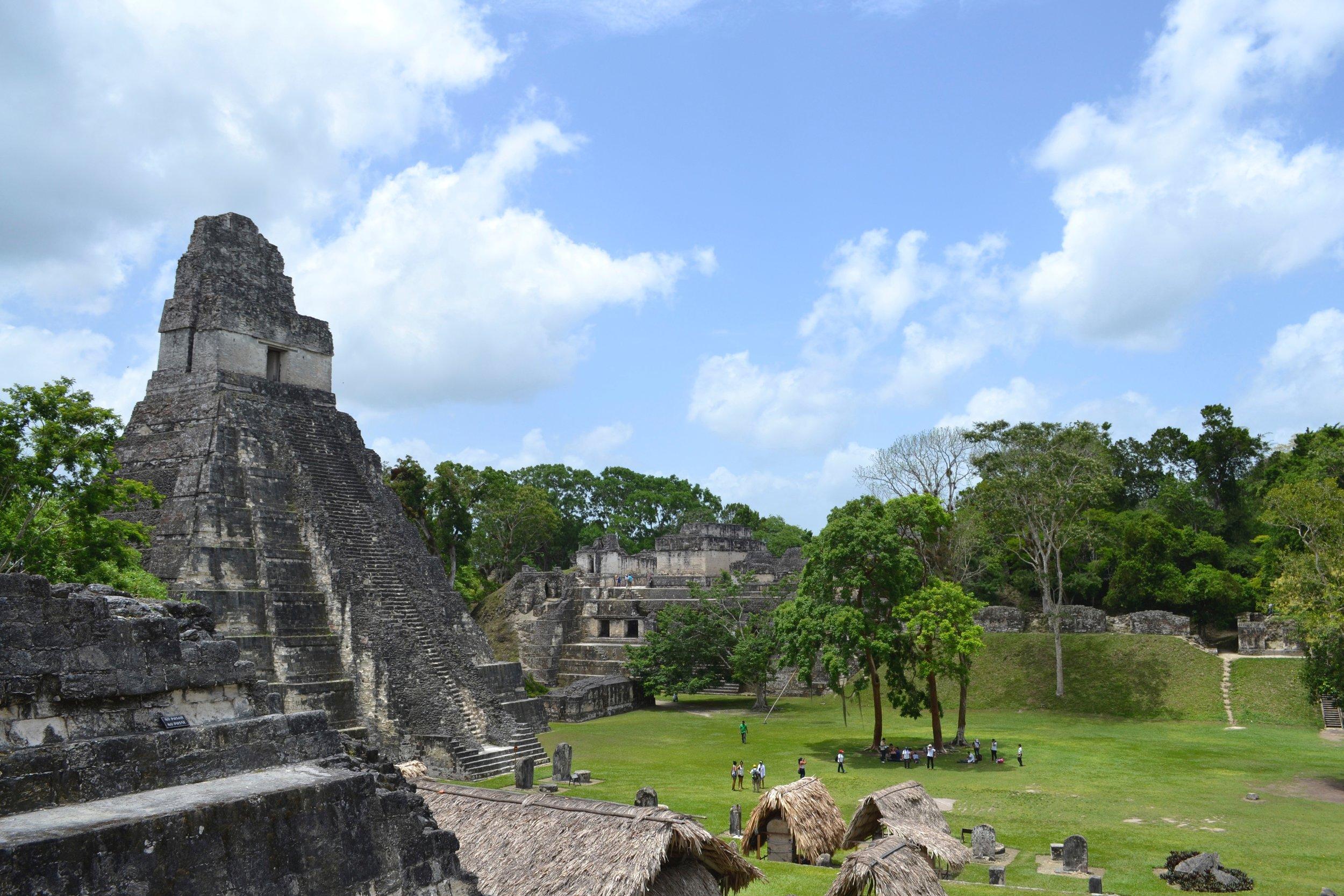 A view of Tikal, Guatemala