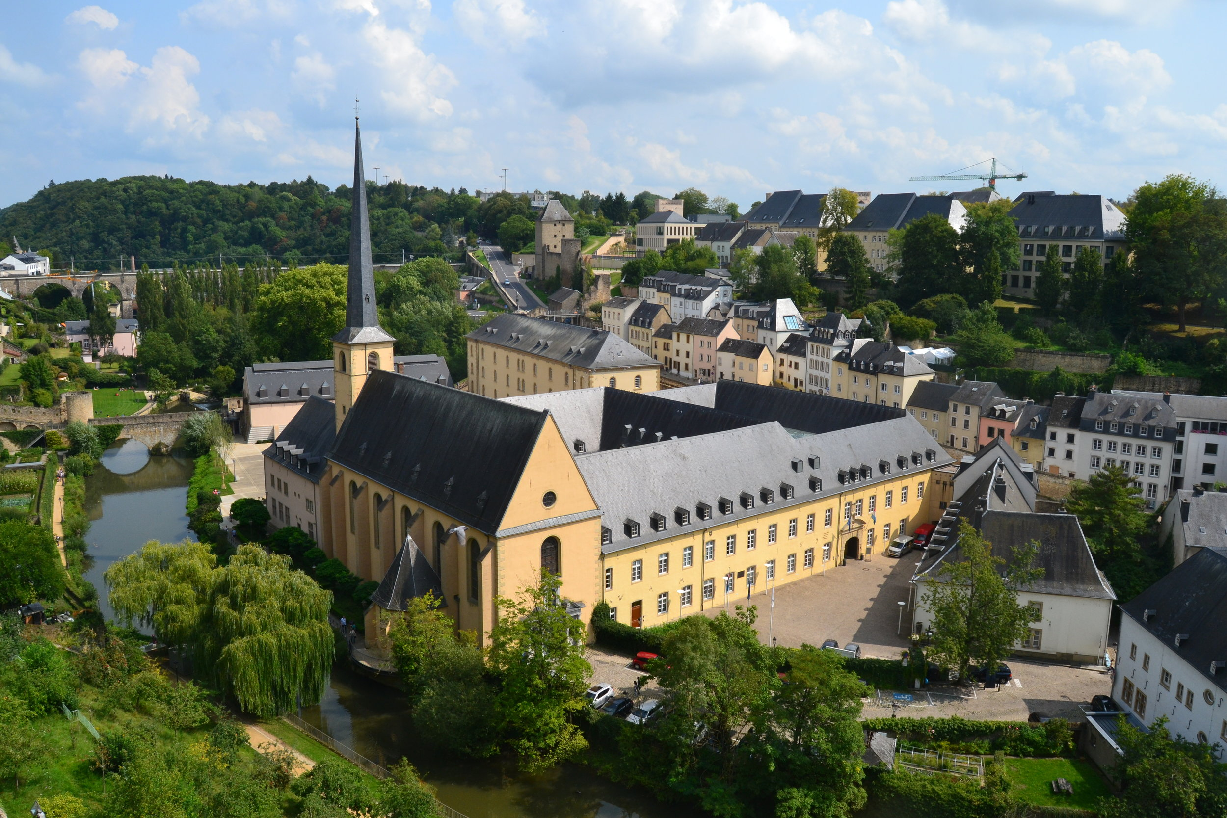 Neumunster Abbey in Luxembourg