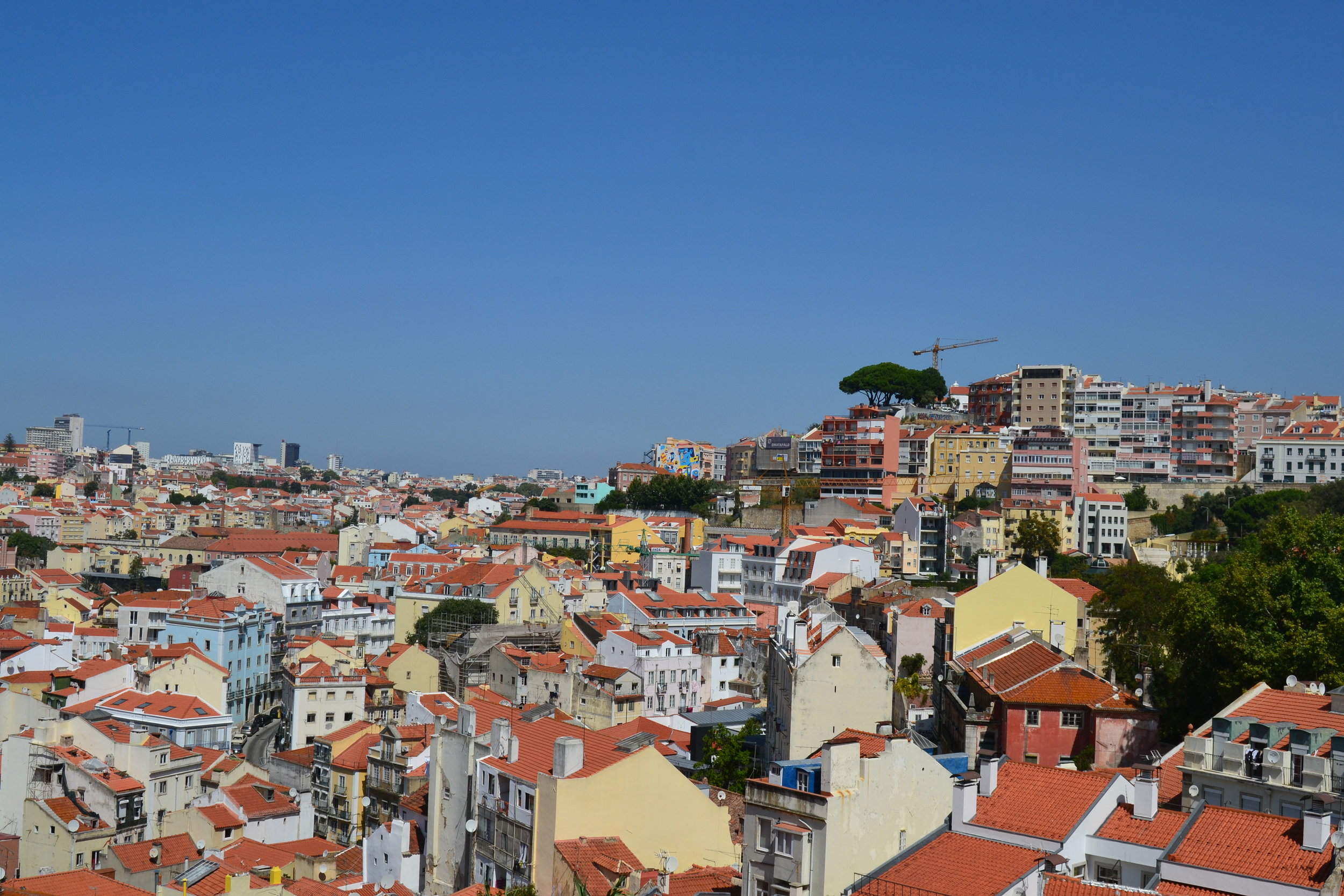 General View of Lisbon, Portugal