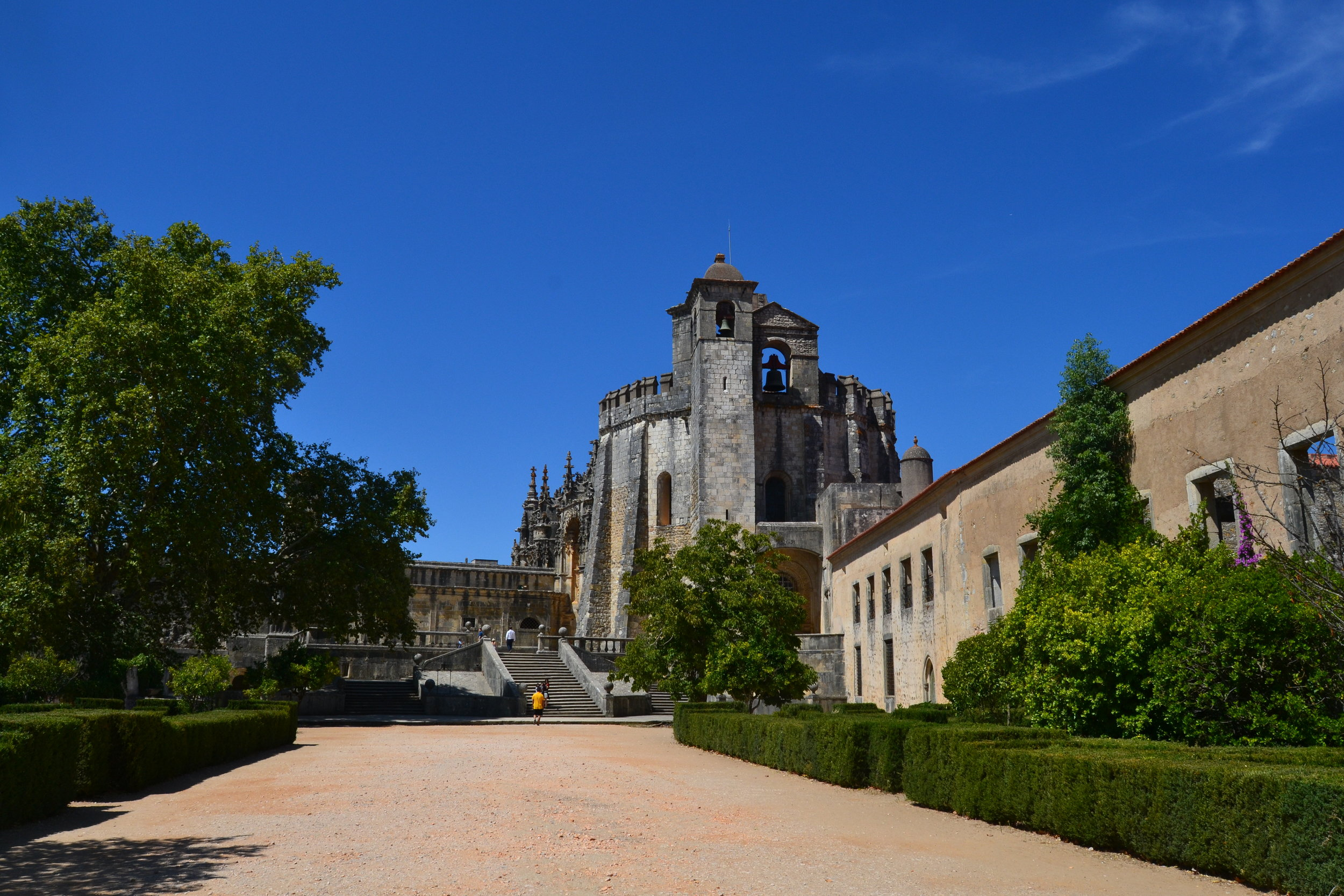 The Convent of Christ in Tomar, Portugal