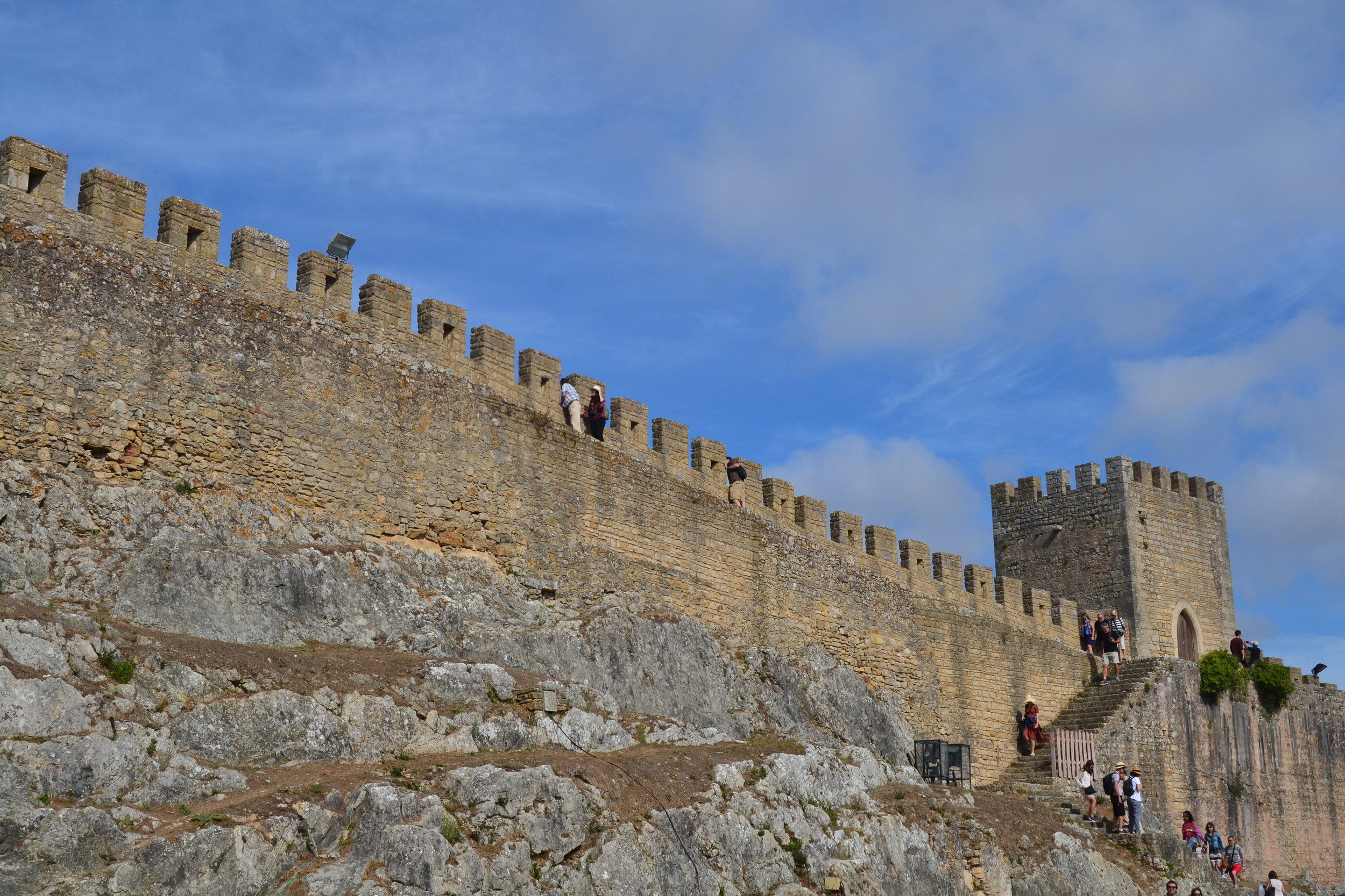 Obidos Castle Walls