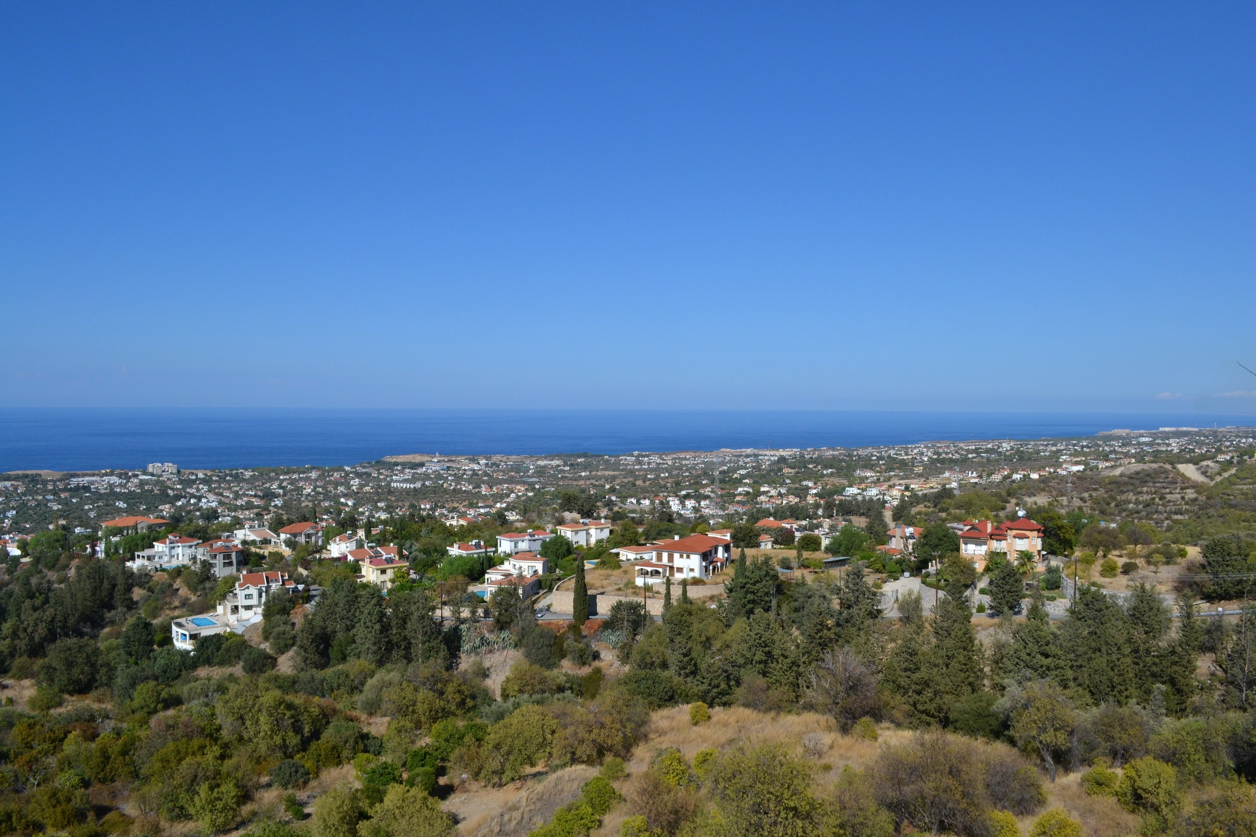 A view of Kyrenia (Girne) in the Turkish Republic of Northern Cyprus