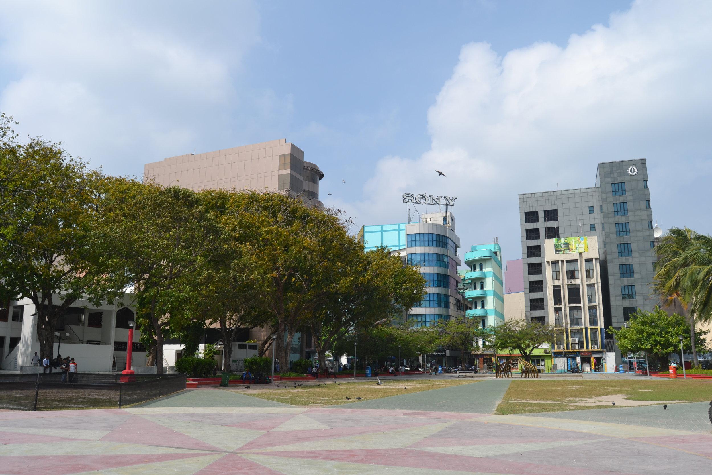 View of Republic Square