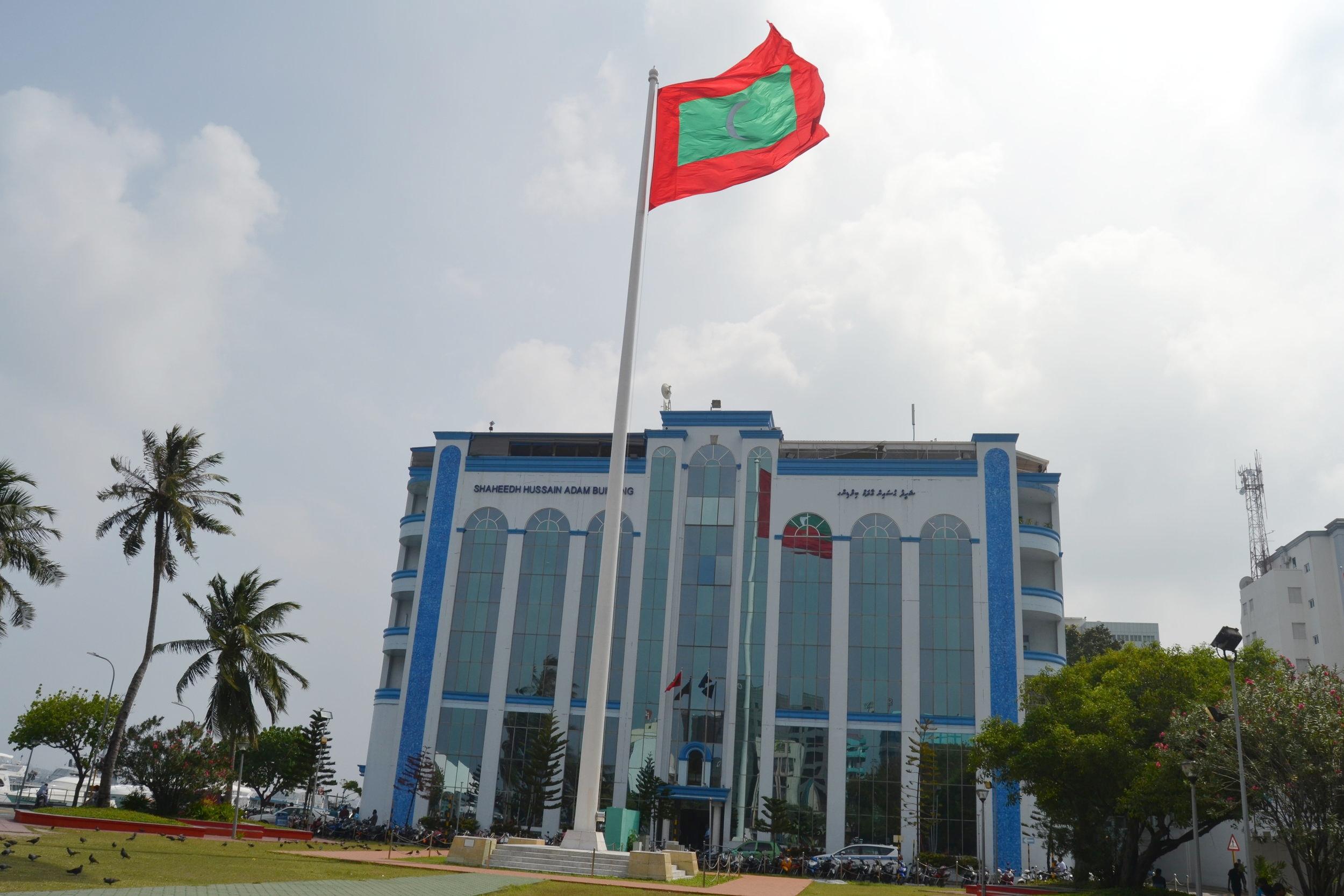 The Malé Police Headquarters
