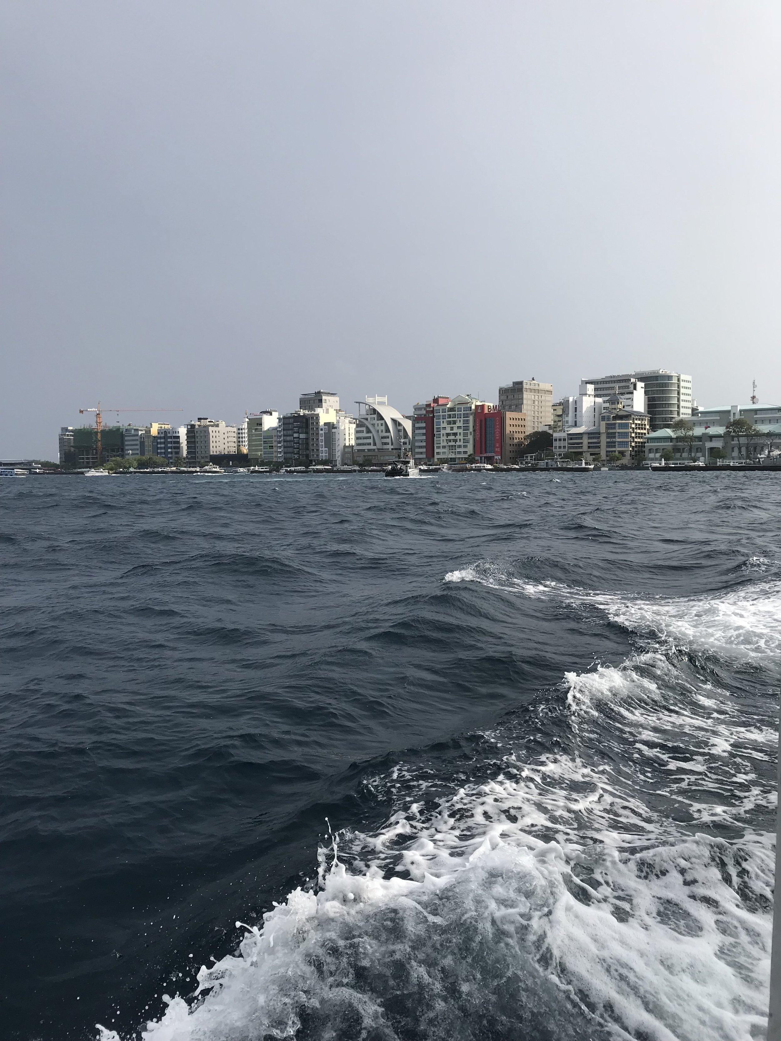 Ferry from Malé