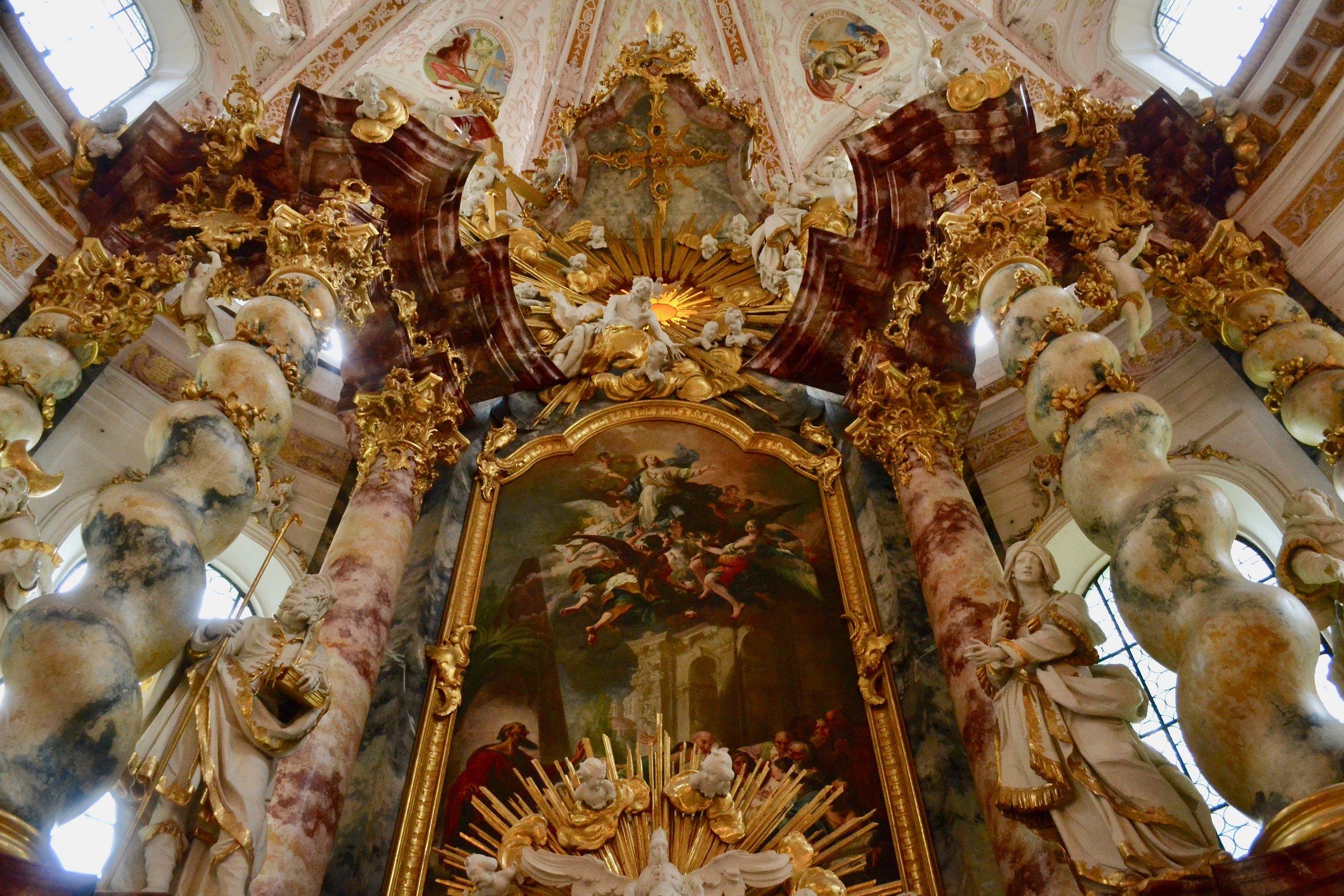 The High Altar in Fürstenfeld Abbey