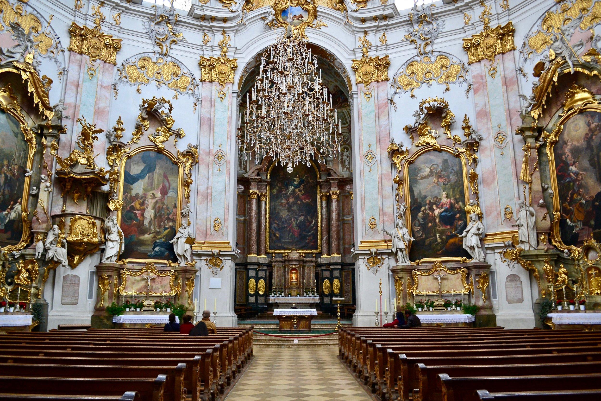 High Altar of Ettal Abbey