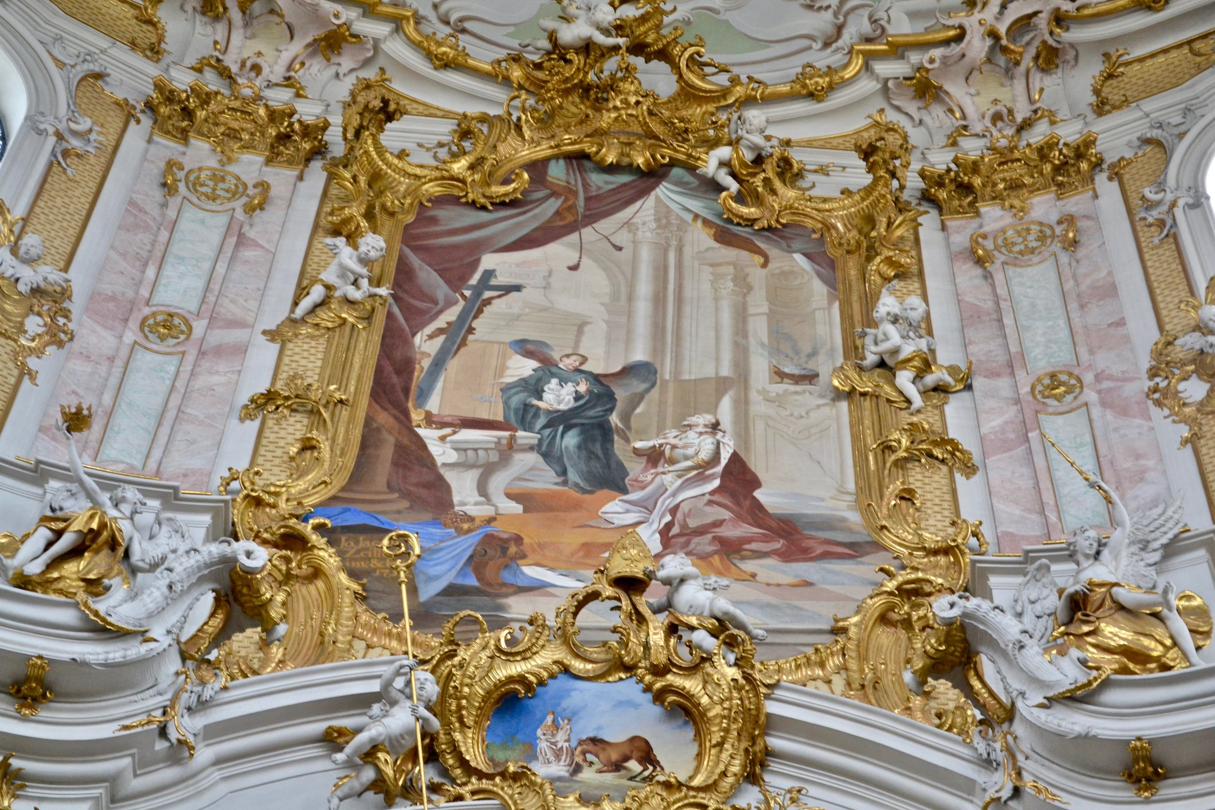 Ettal Abbey Foundation Painting