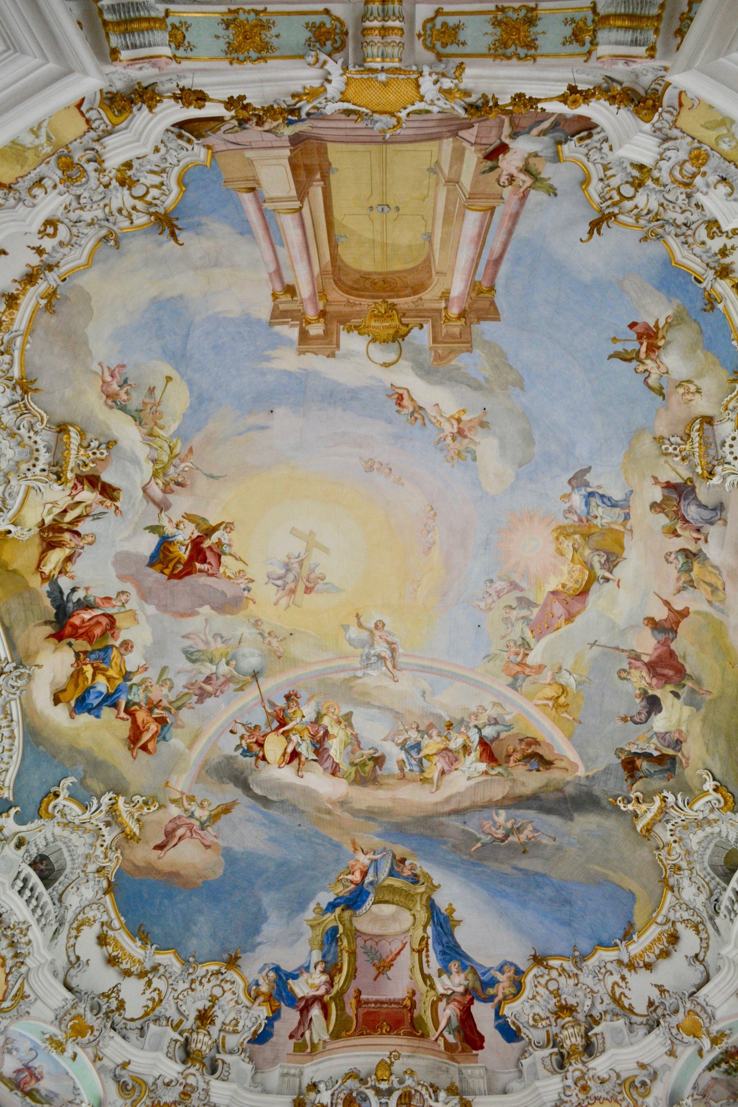 Wieskirche Ceiling Fresco