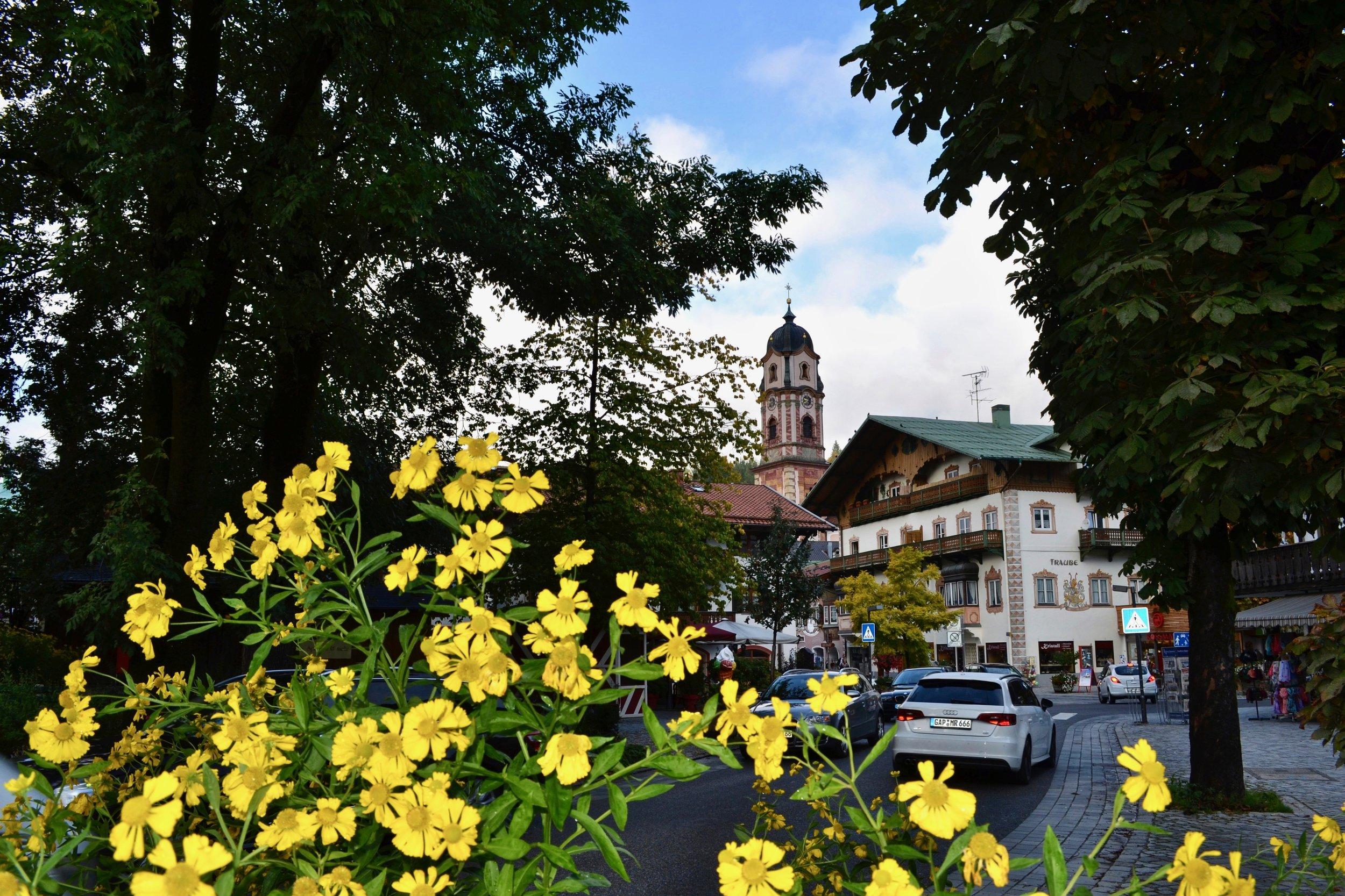 Mittenwald Parish Church Tower