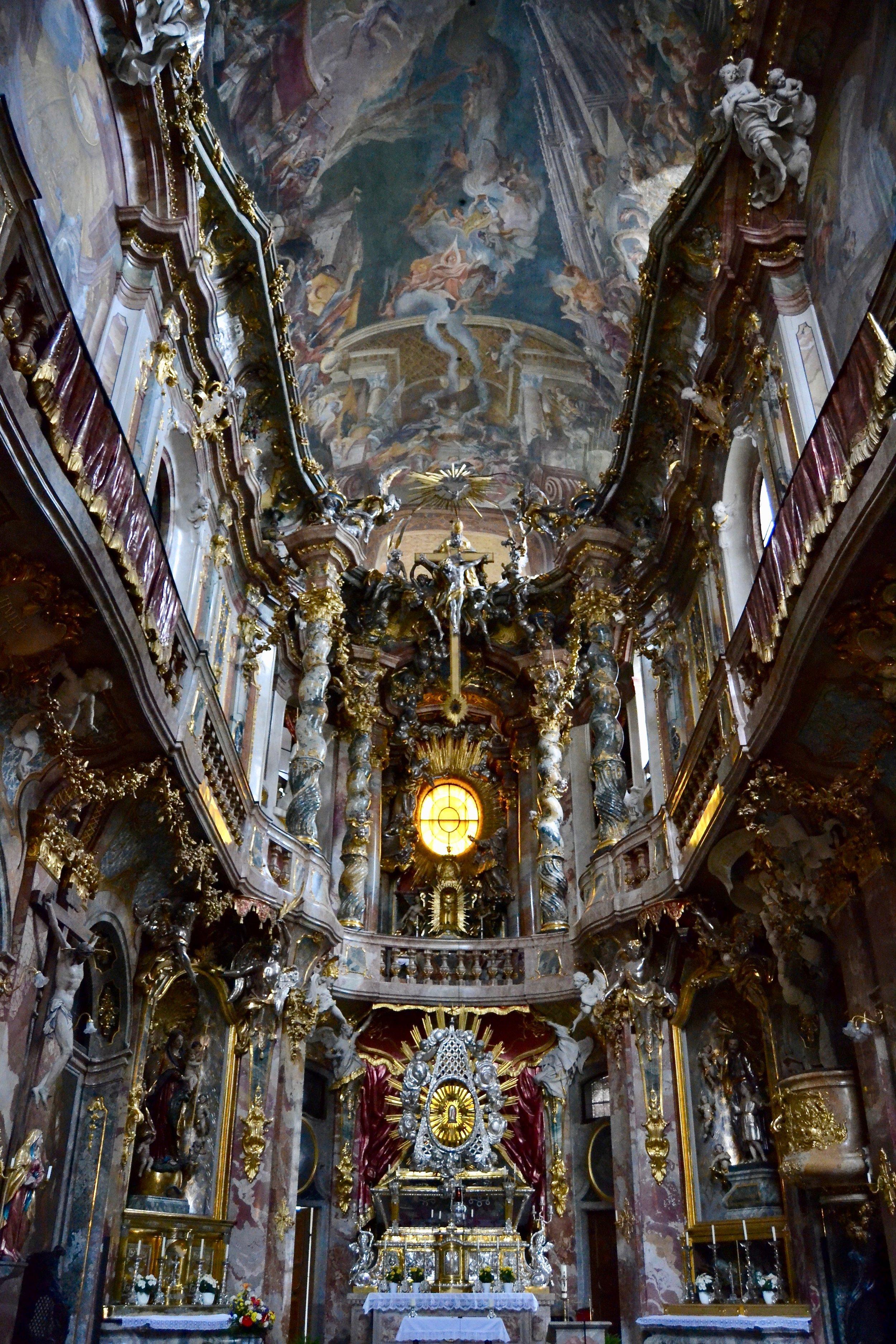 Asamkirche Interior