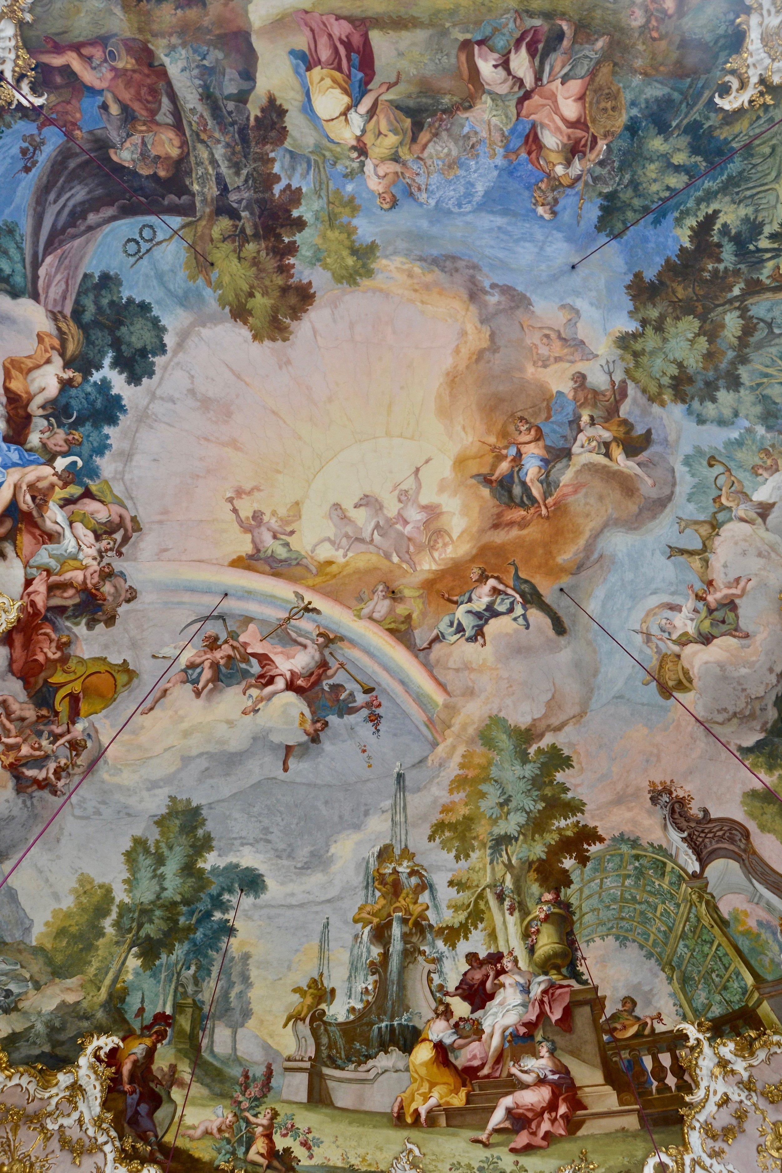 Steinerner Saal Ceiling Fresco