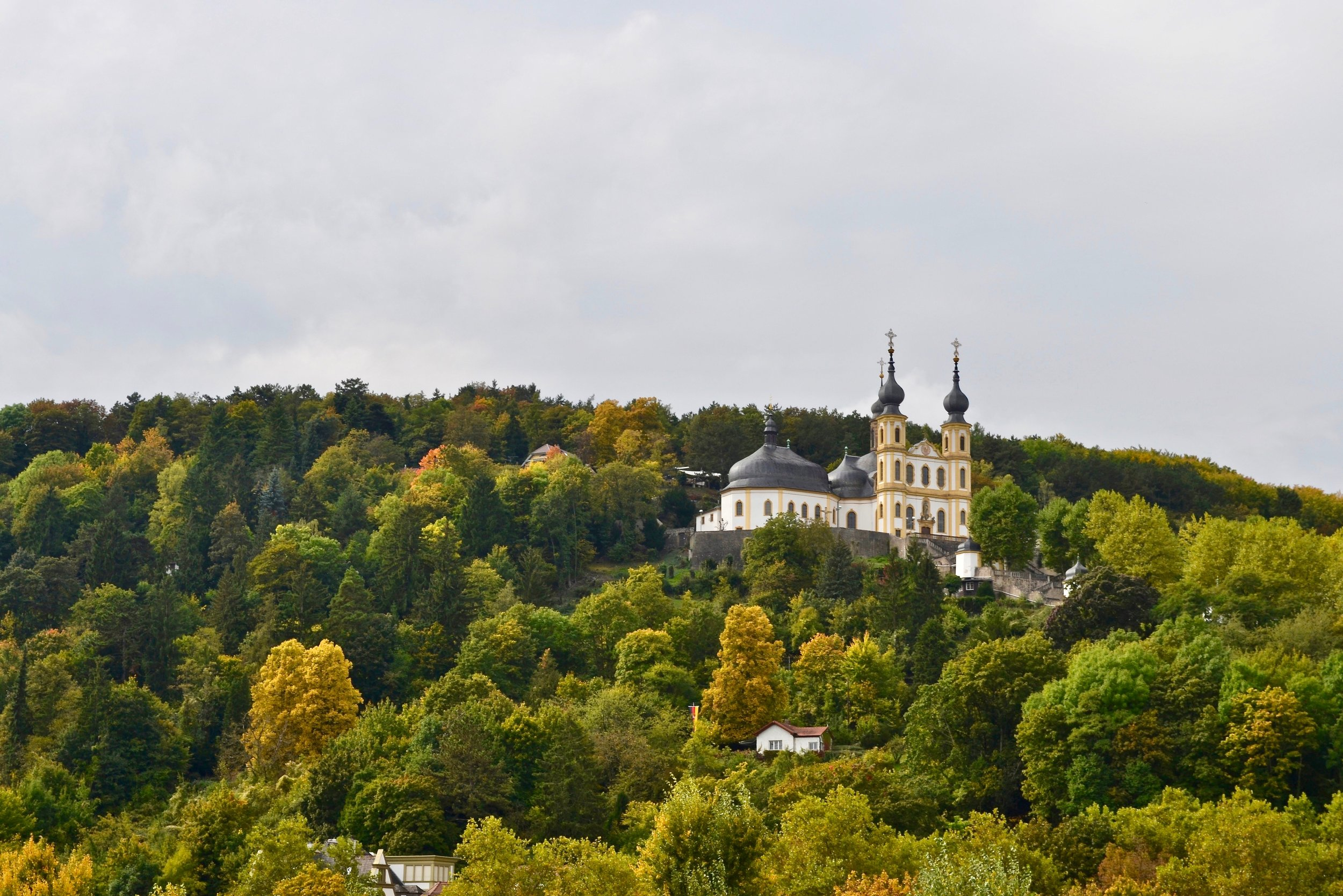View of the Käppele in Würzburg