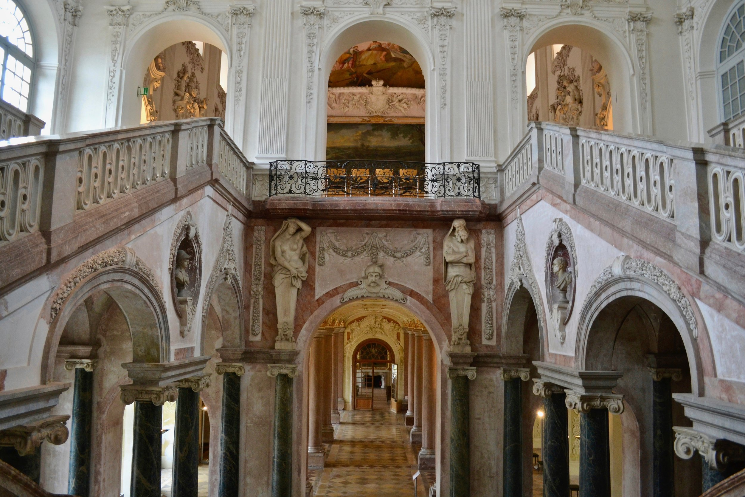 Schleissheim Palace Staircase