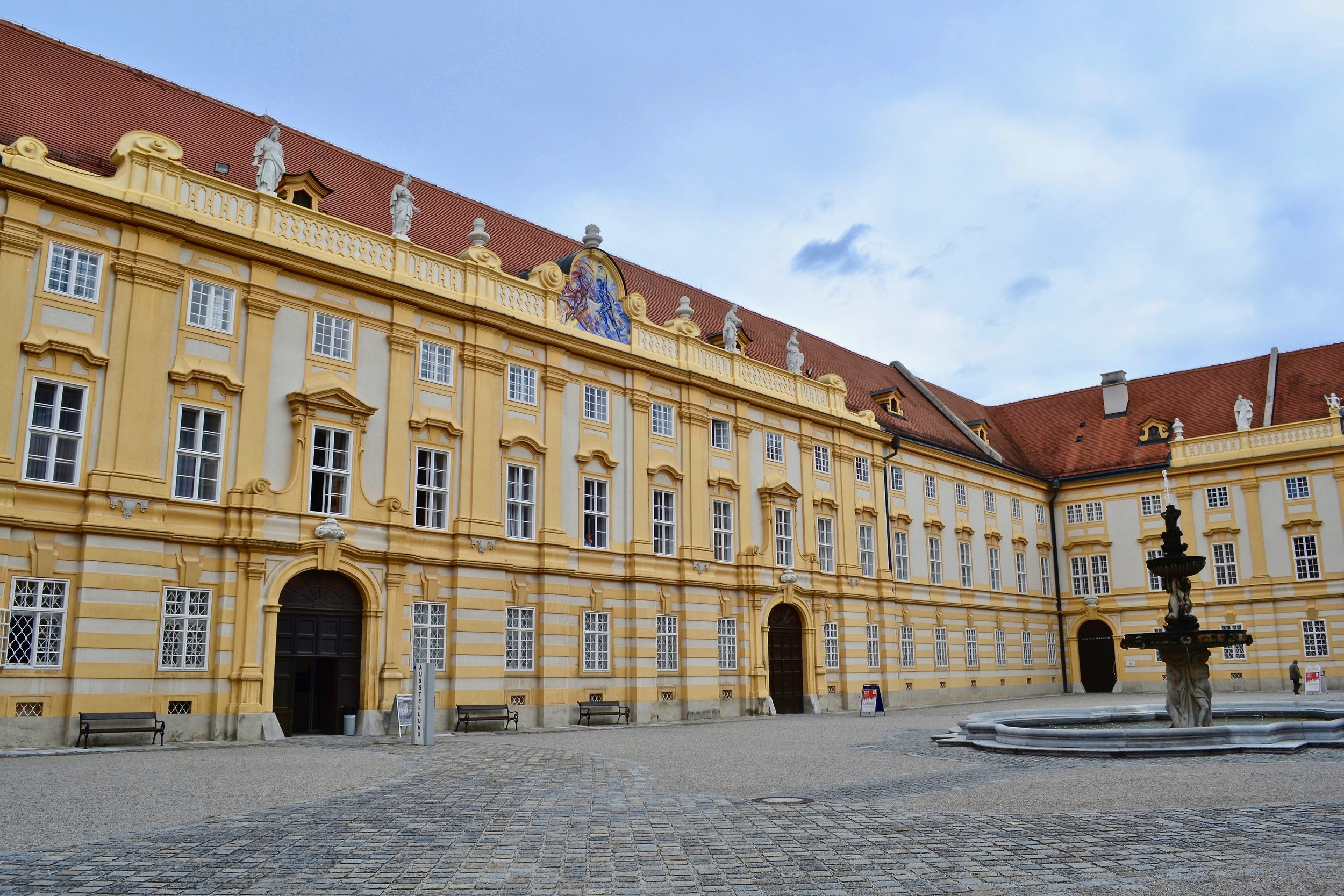 Melk Abbey Courtyard