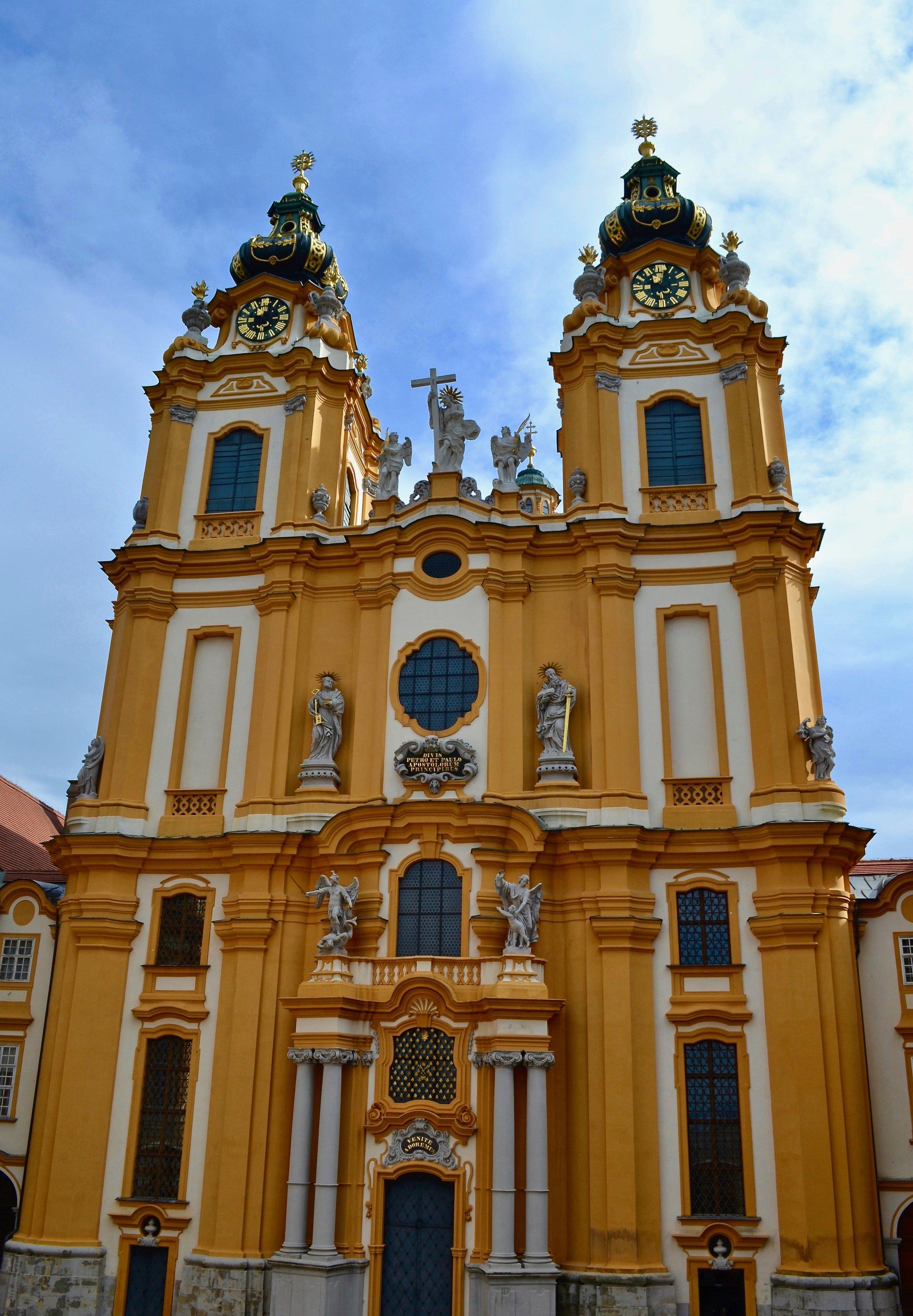 The Abbey Church of Melk Abbey