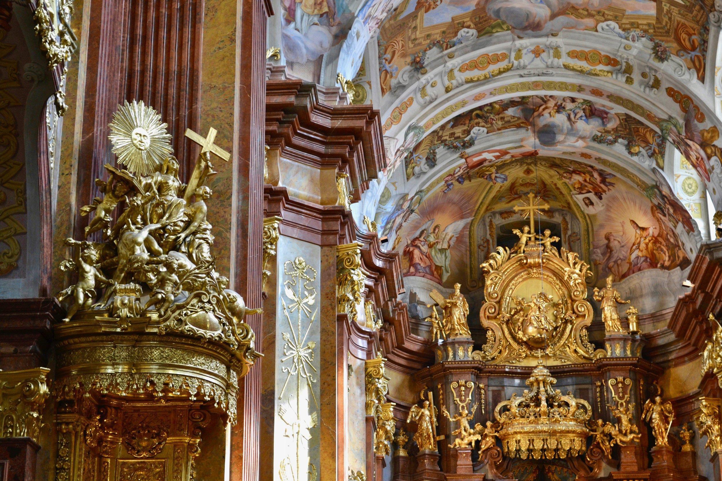 Melk Abbey Pulpit