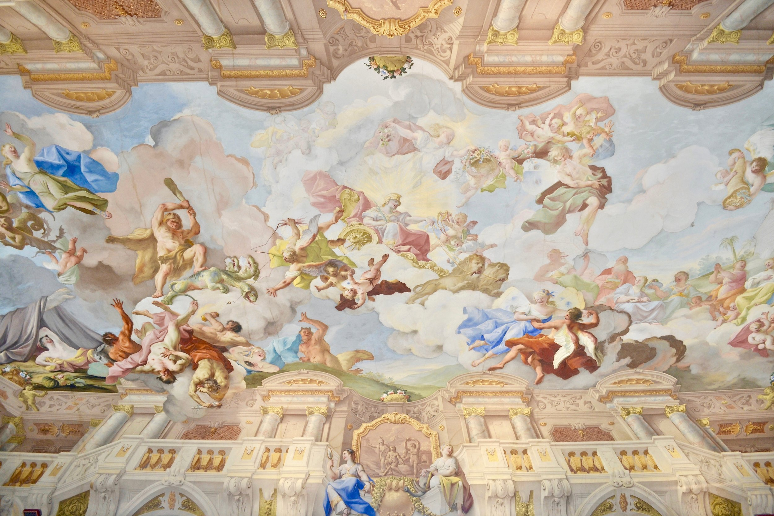 Marble Hall Ceiling Fresco