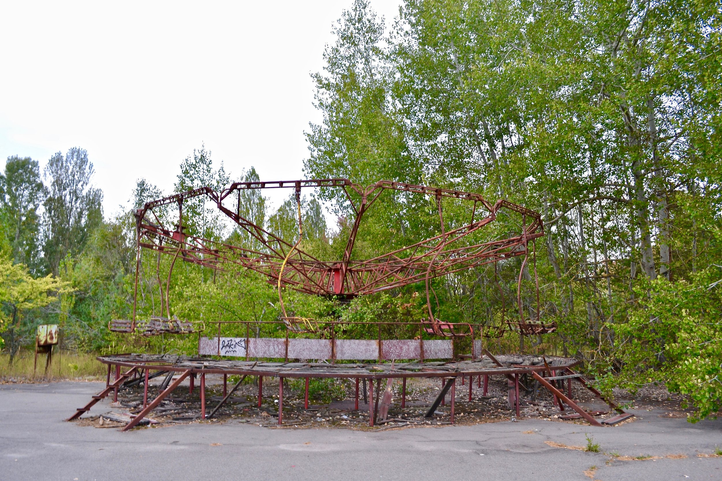 Abandoned Ride at Pripyat