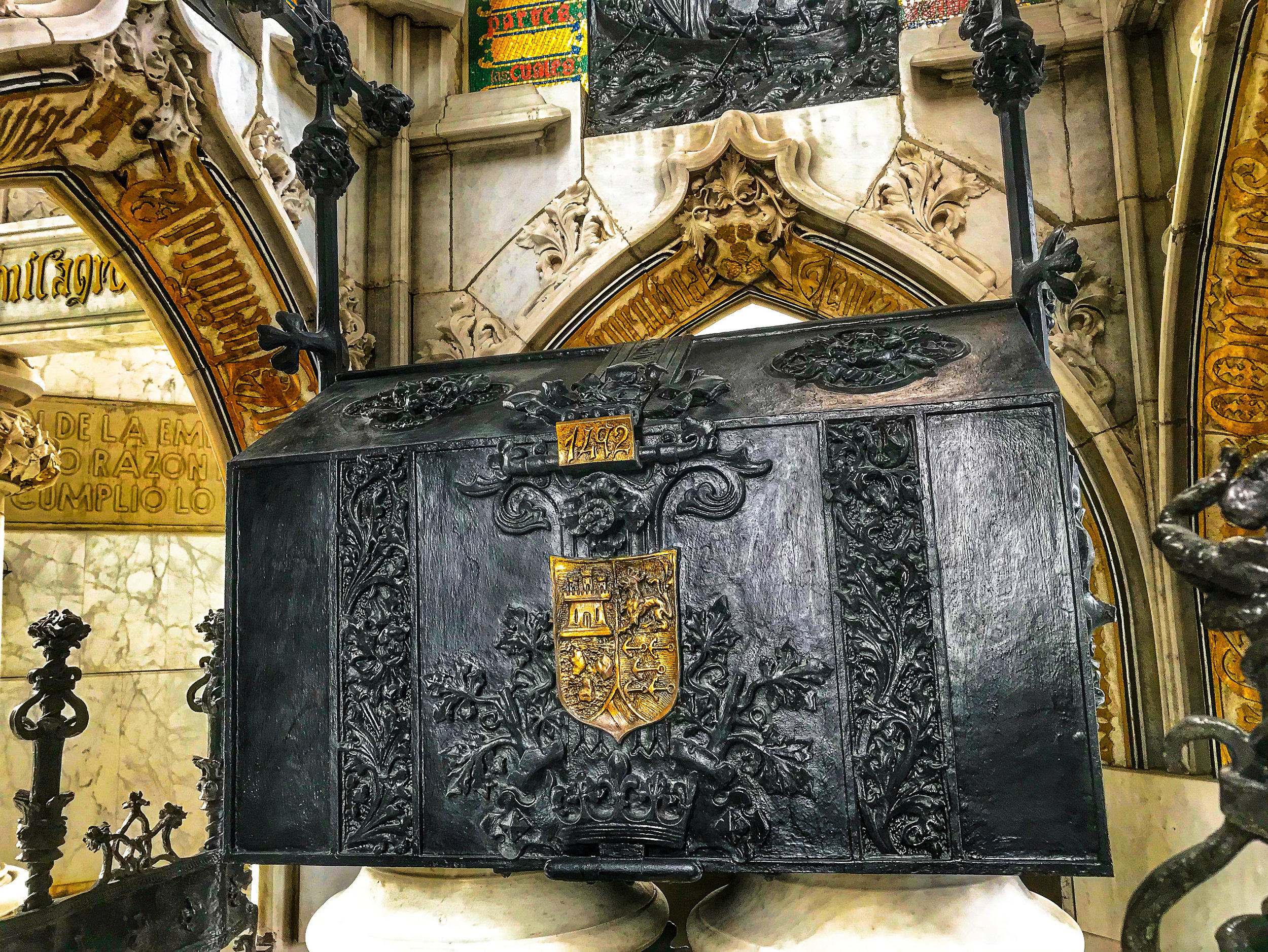 Sarcophagus of Christopher Columbus
