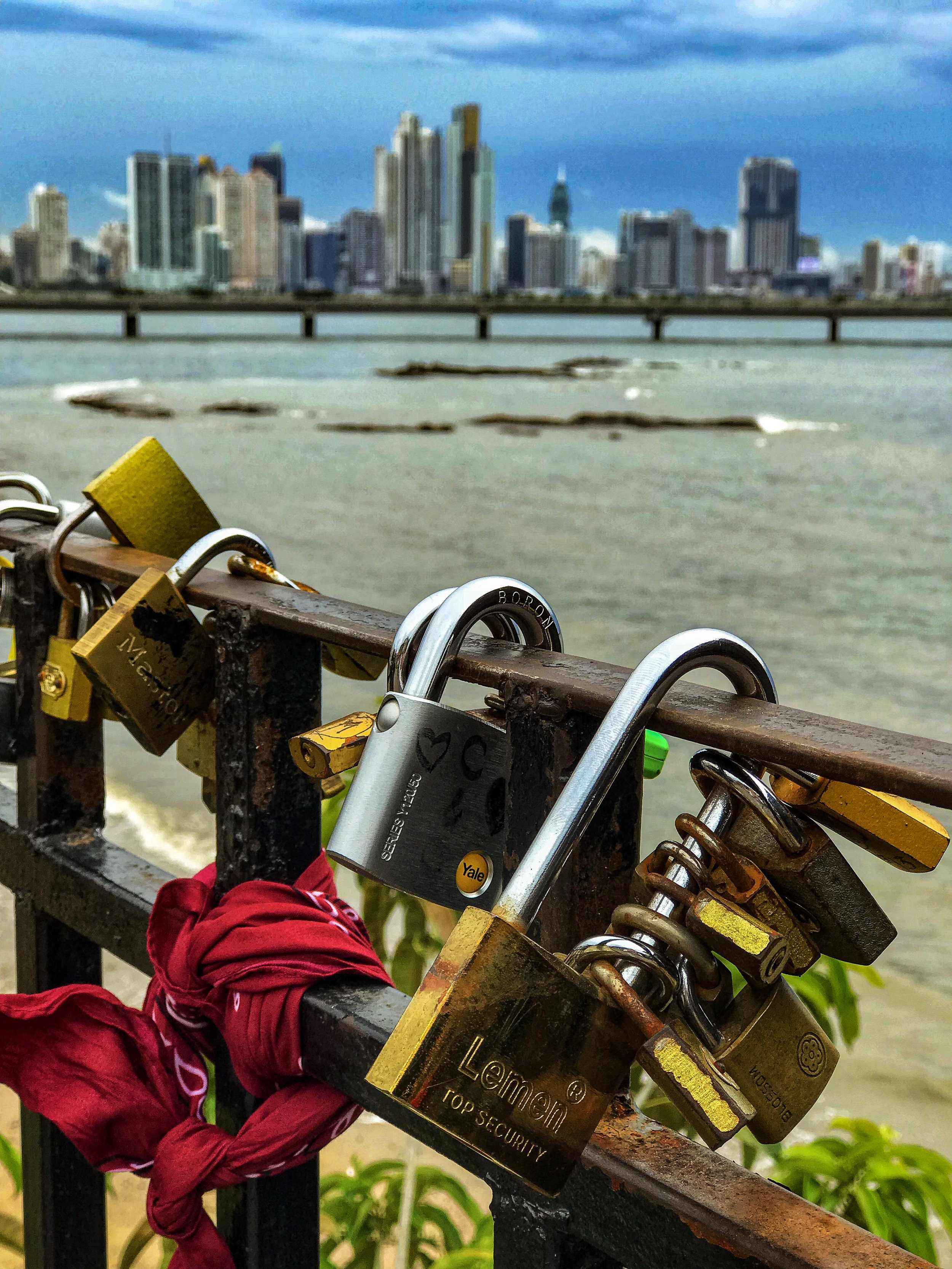Locks of Love in Panama
