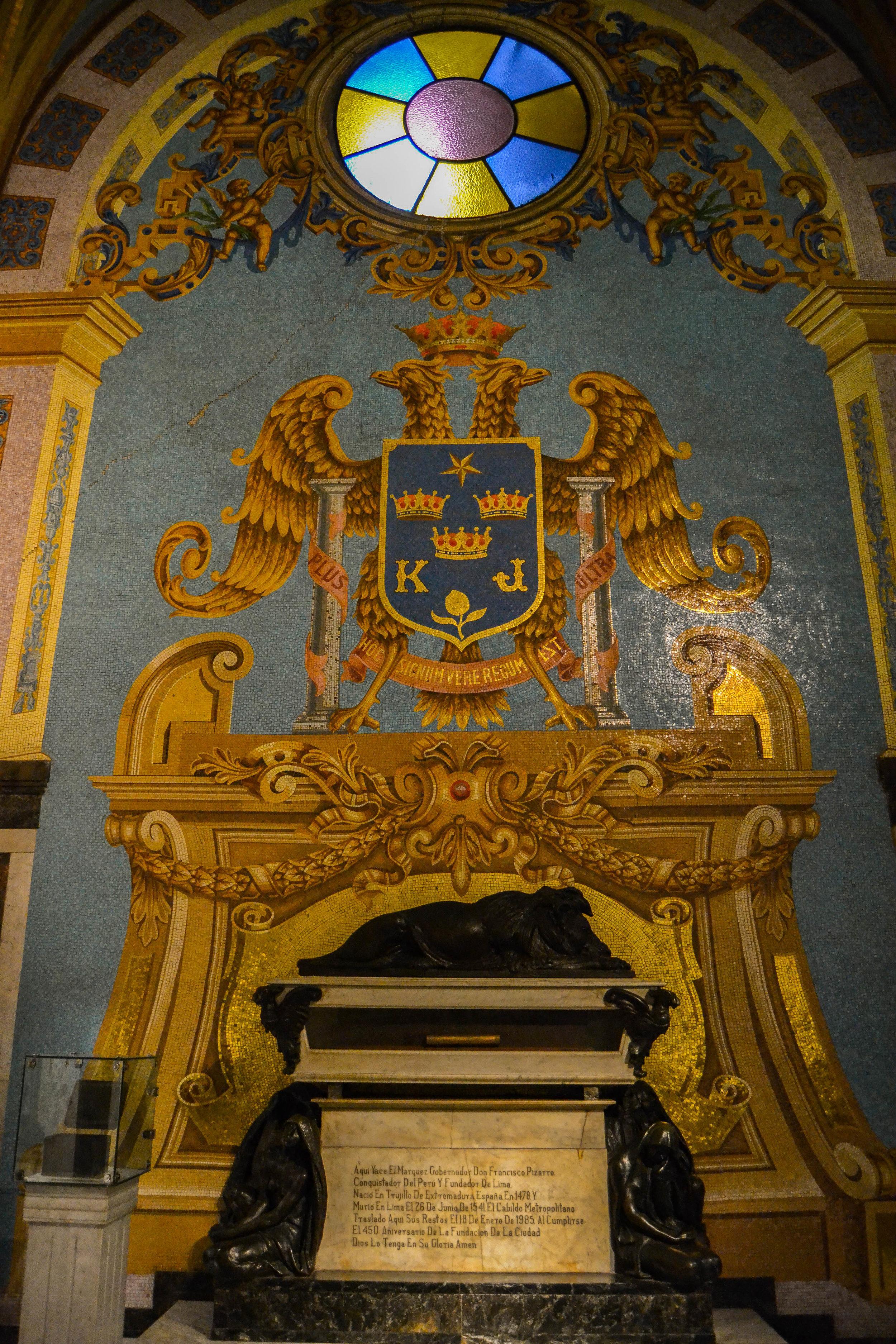 Tomb of Francisco Pizarro