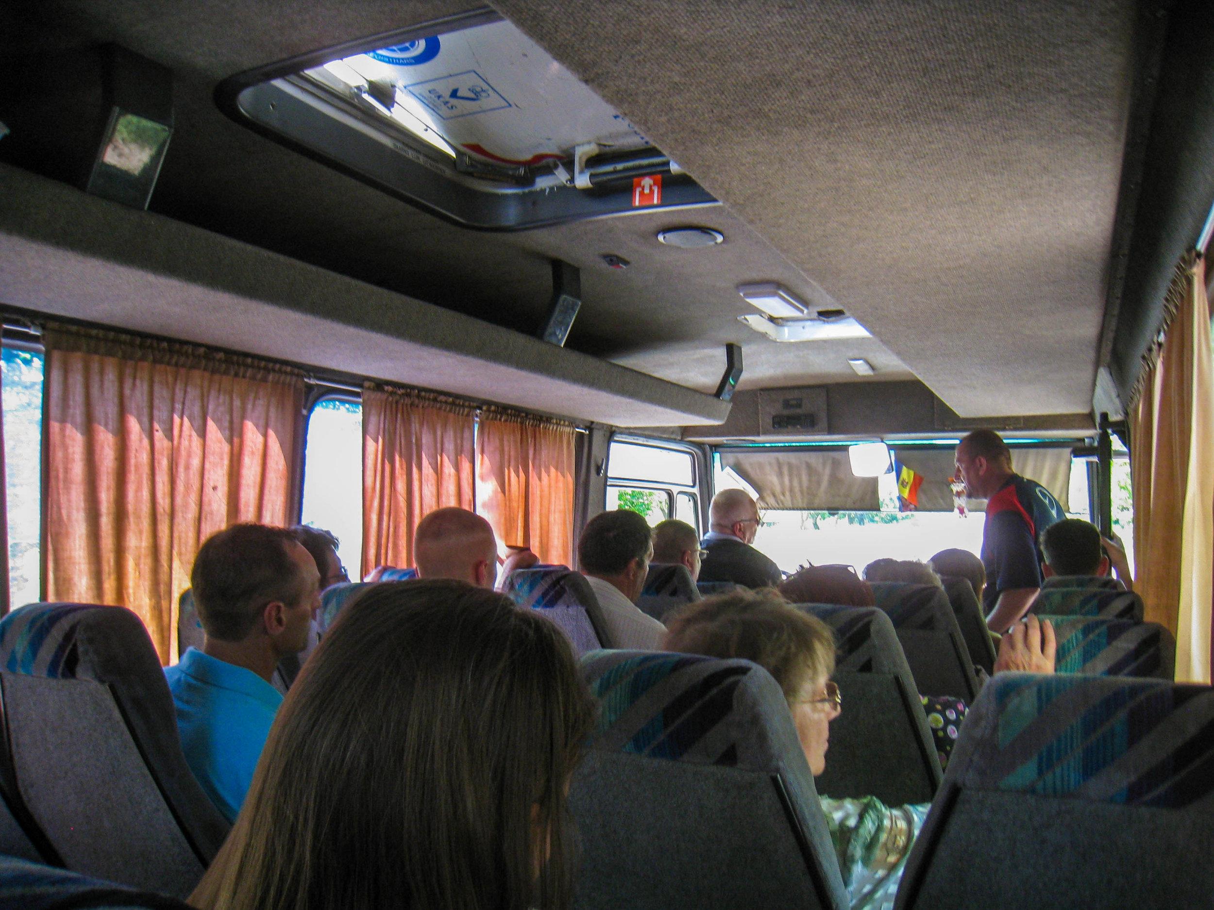 Marshrutka to Transnistria