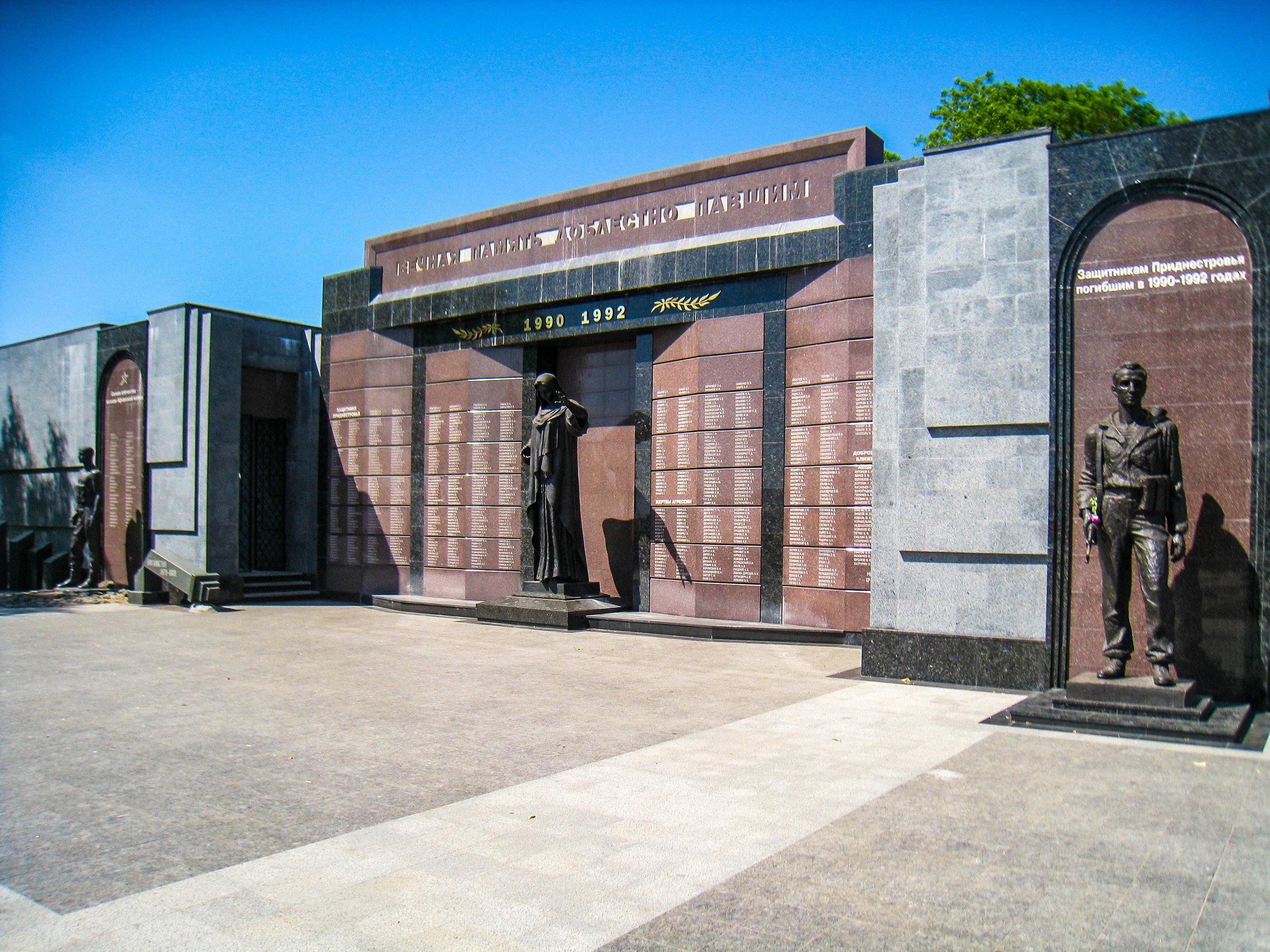 Transnistria War Monument