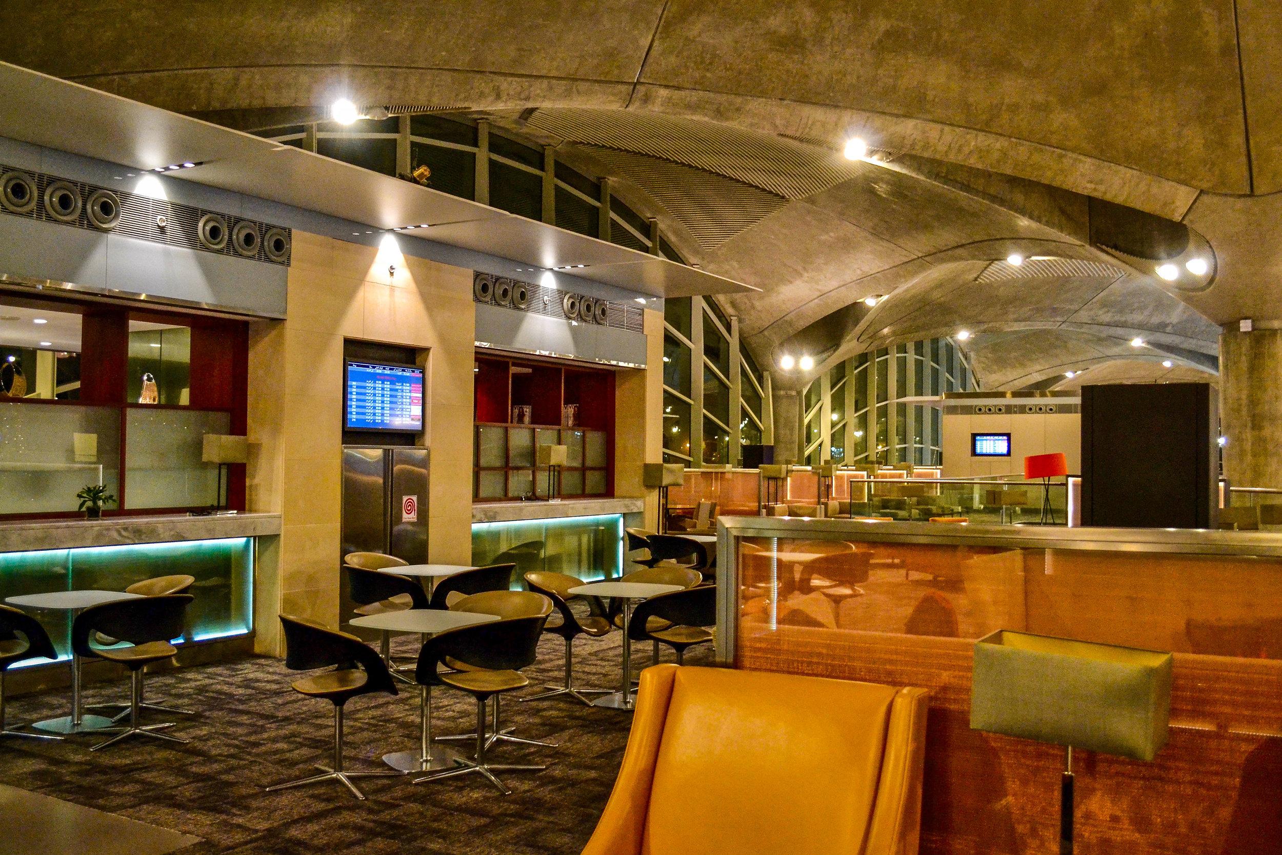 The Crown Lounge in Amman, Jordan