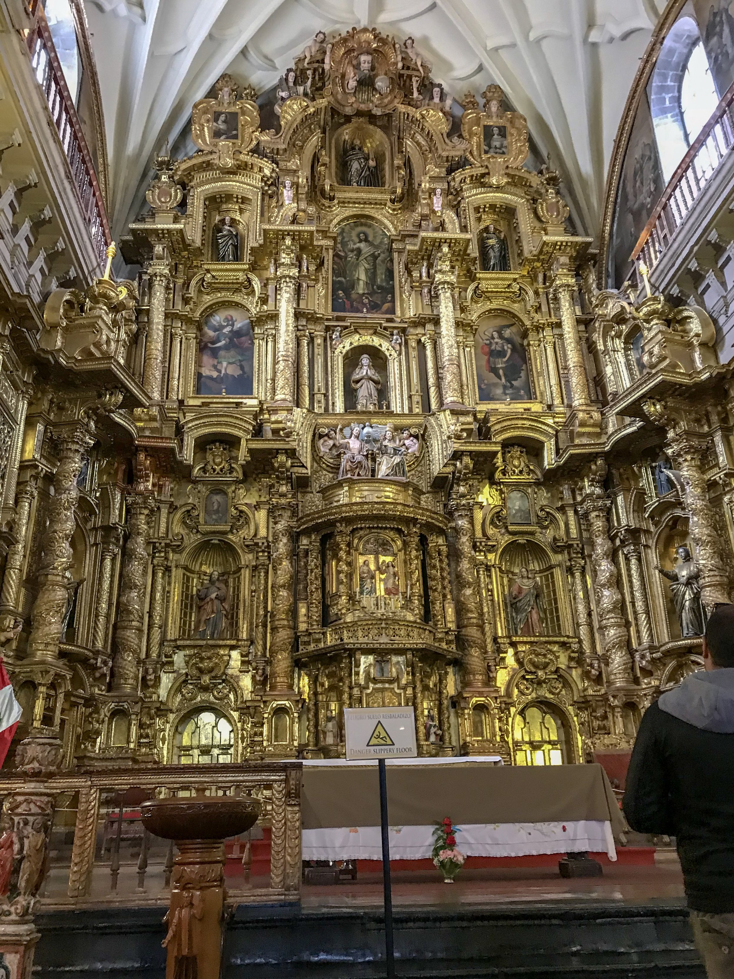 High Altar of the Church of the Society of Jesus