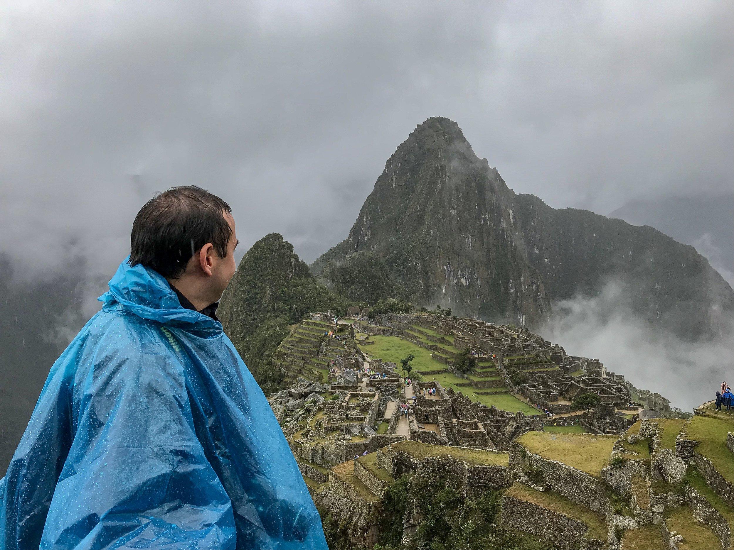Looking toward Machu Picchu