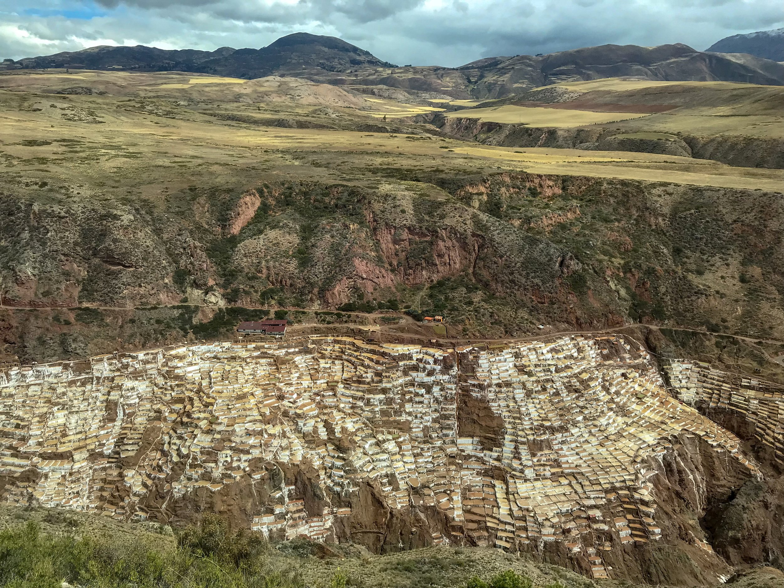 View of Salineras de Maras