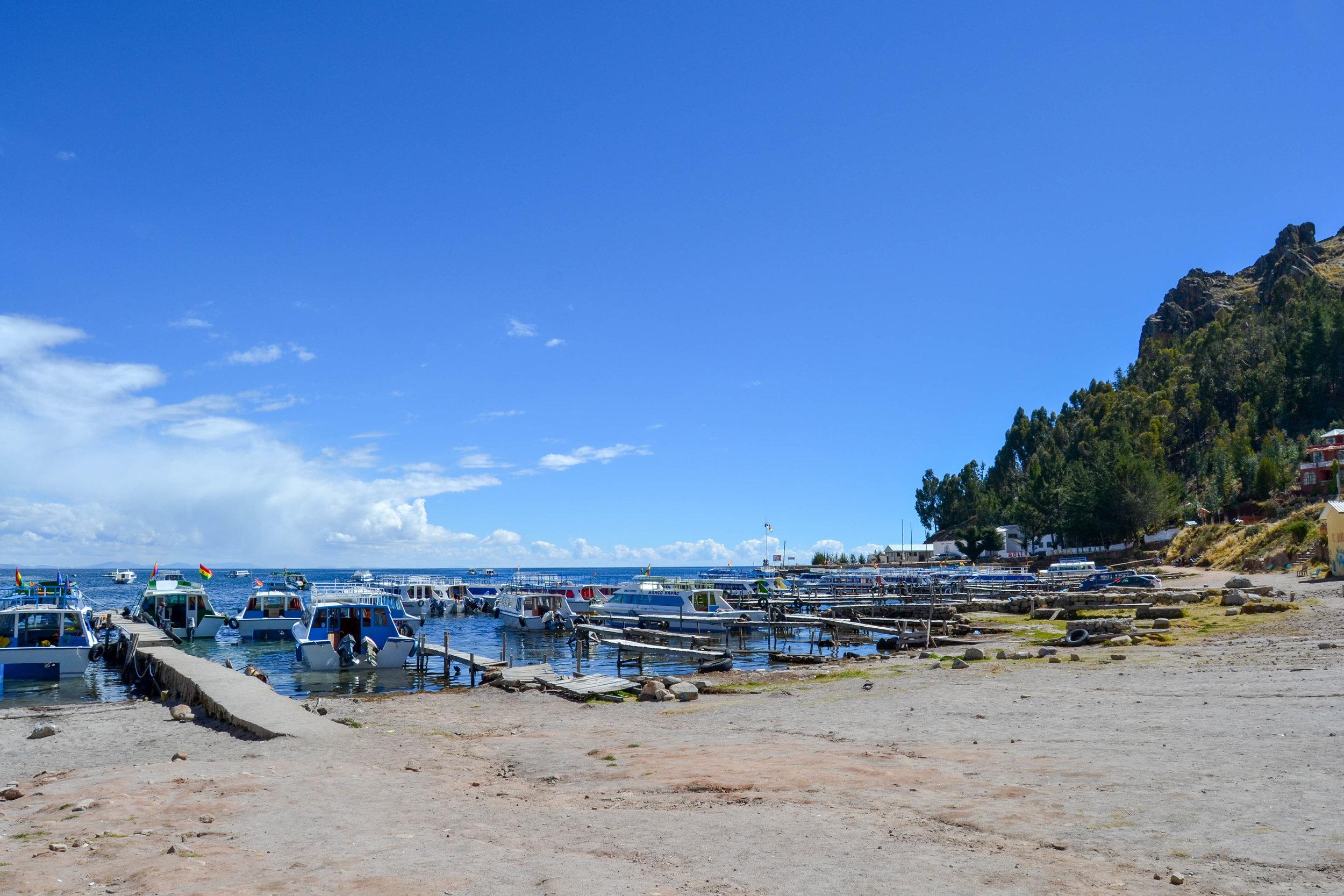 Shores of Lake Titicaca