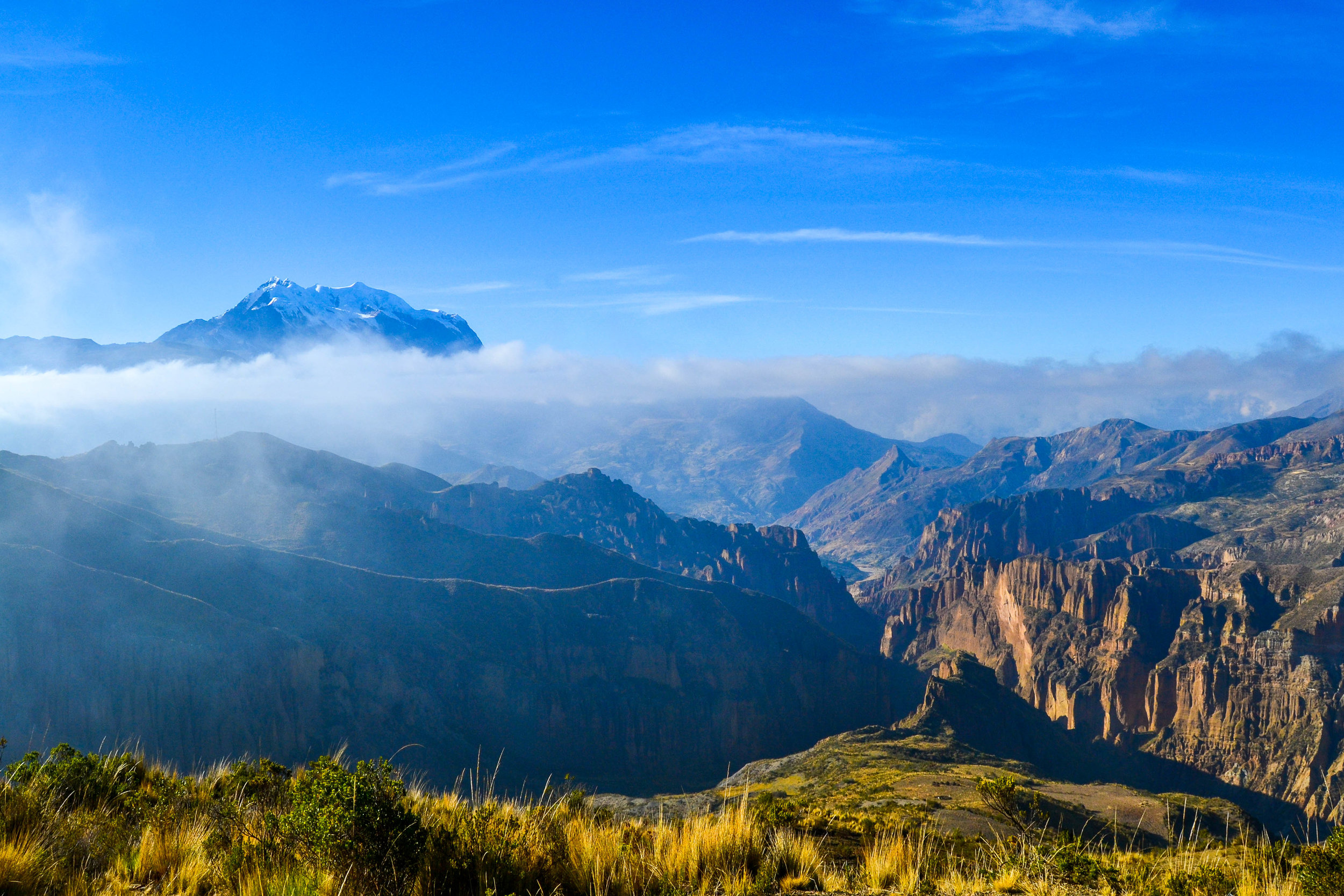 View of Palca Canyon in Bolivia