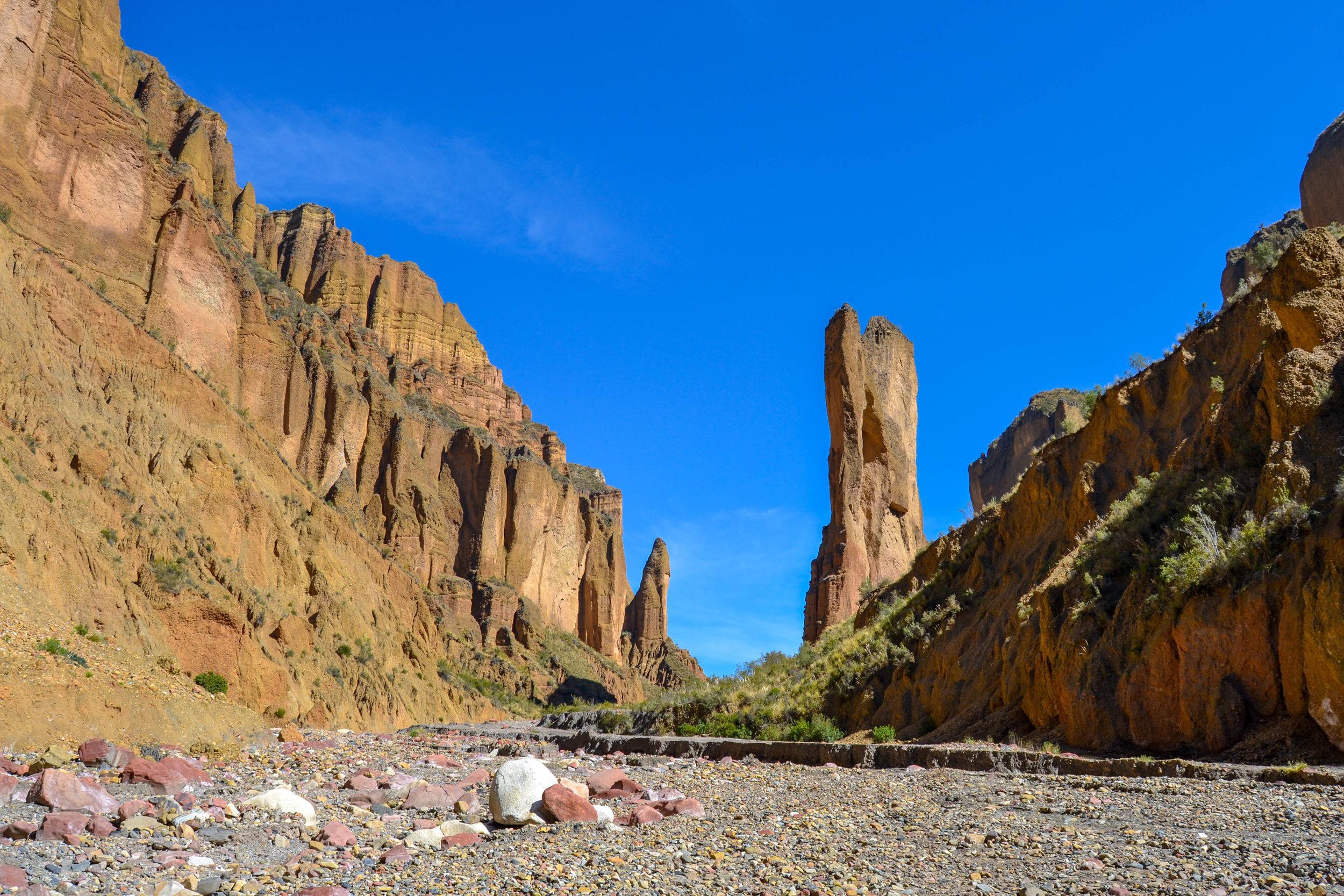 Palca Canyon Rock Tower