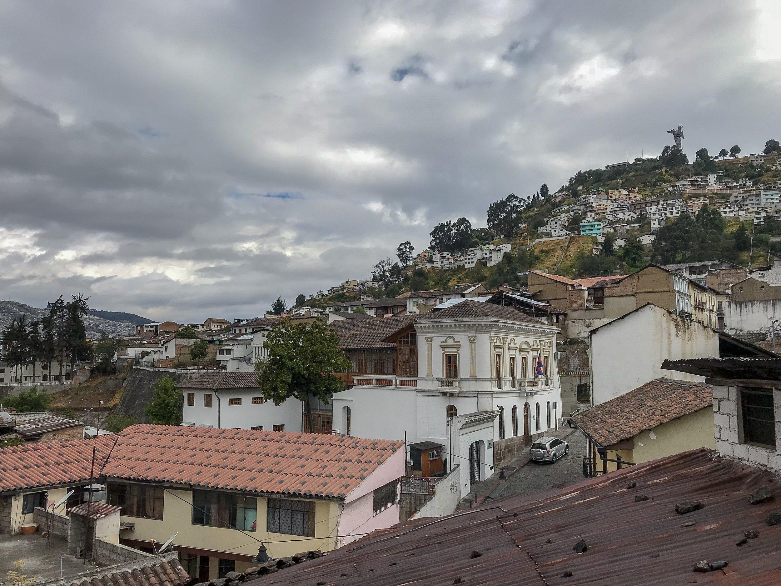 View from Leña Quiteña