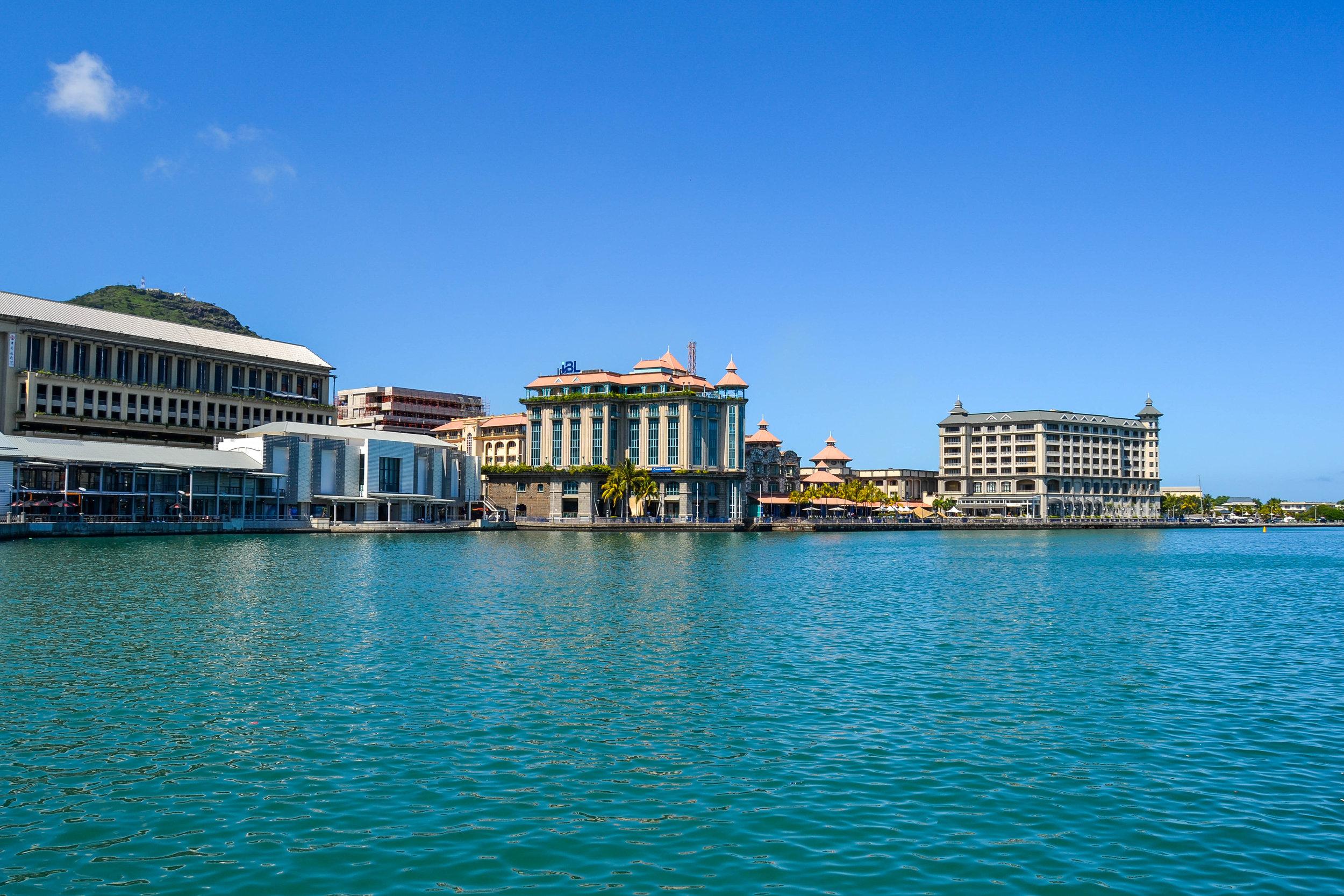 Le Caudan Waterfront in Port Louis
