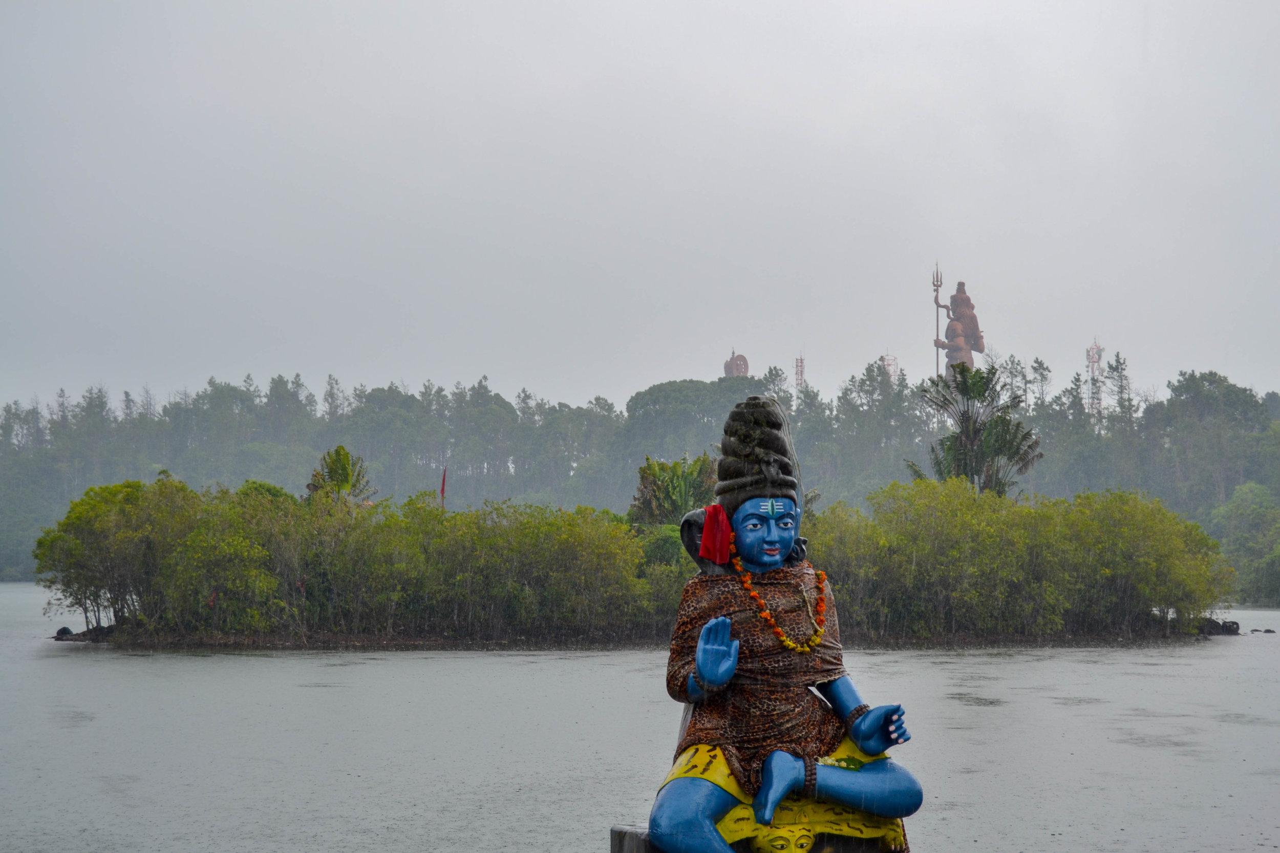 Hindu deity at Ganga Talao