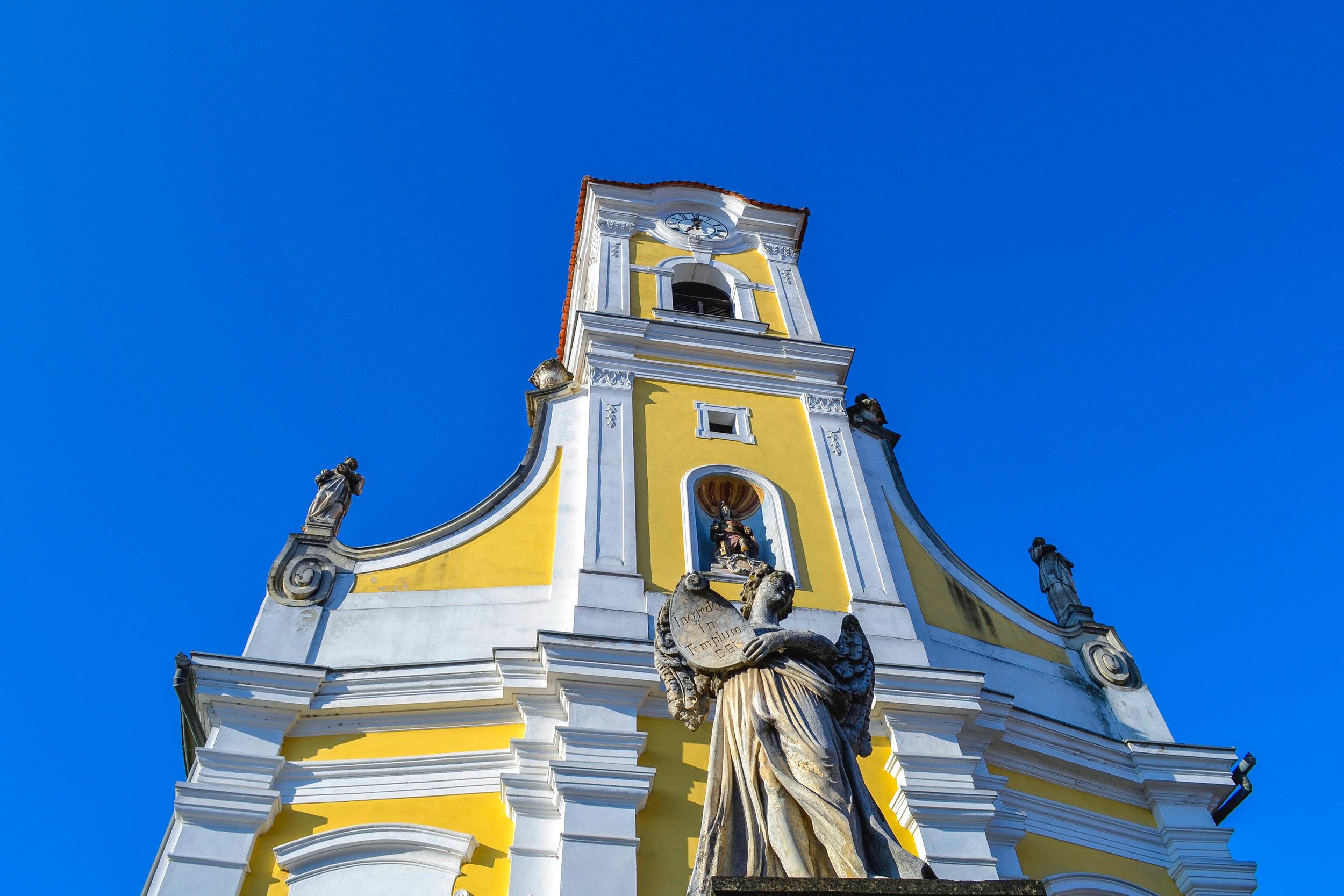 Church of St. Florian in Varazdin, Croatia