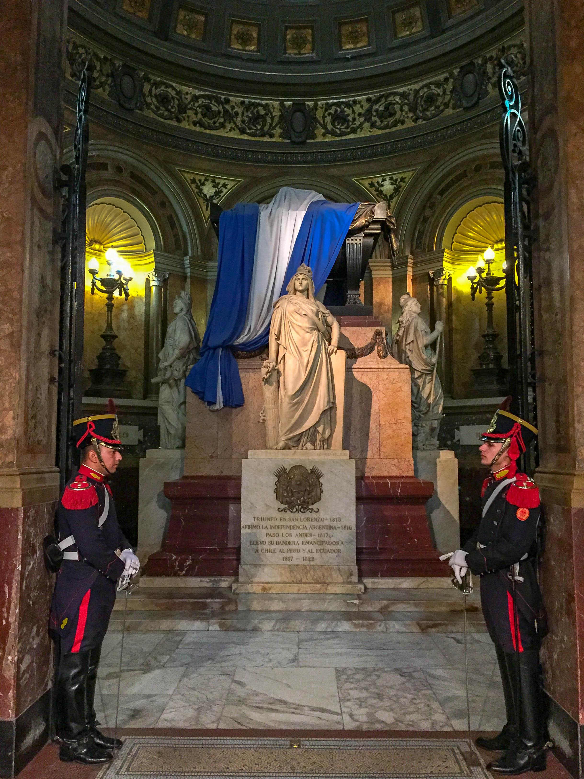 Tomb of Jose de San Martin