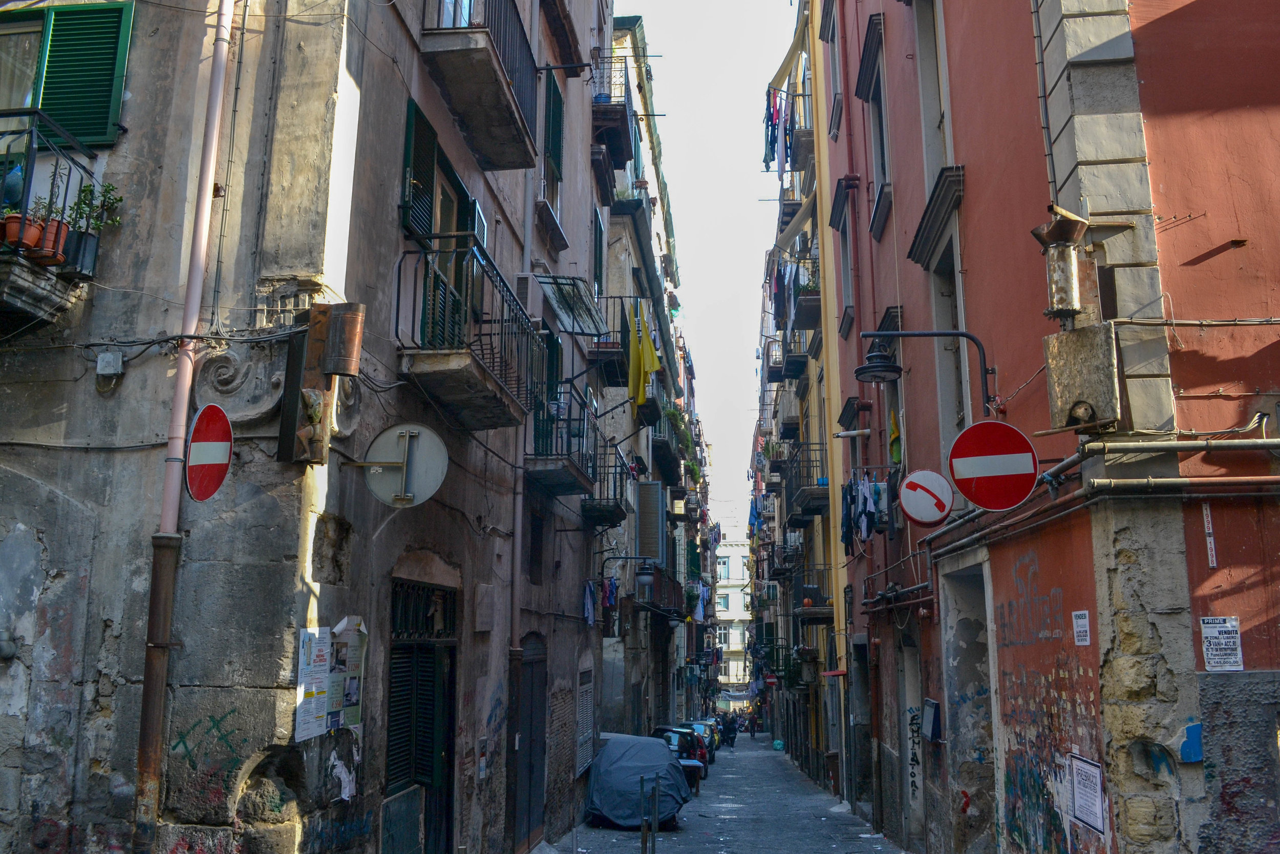 The Spanish Quarter in Naples