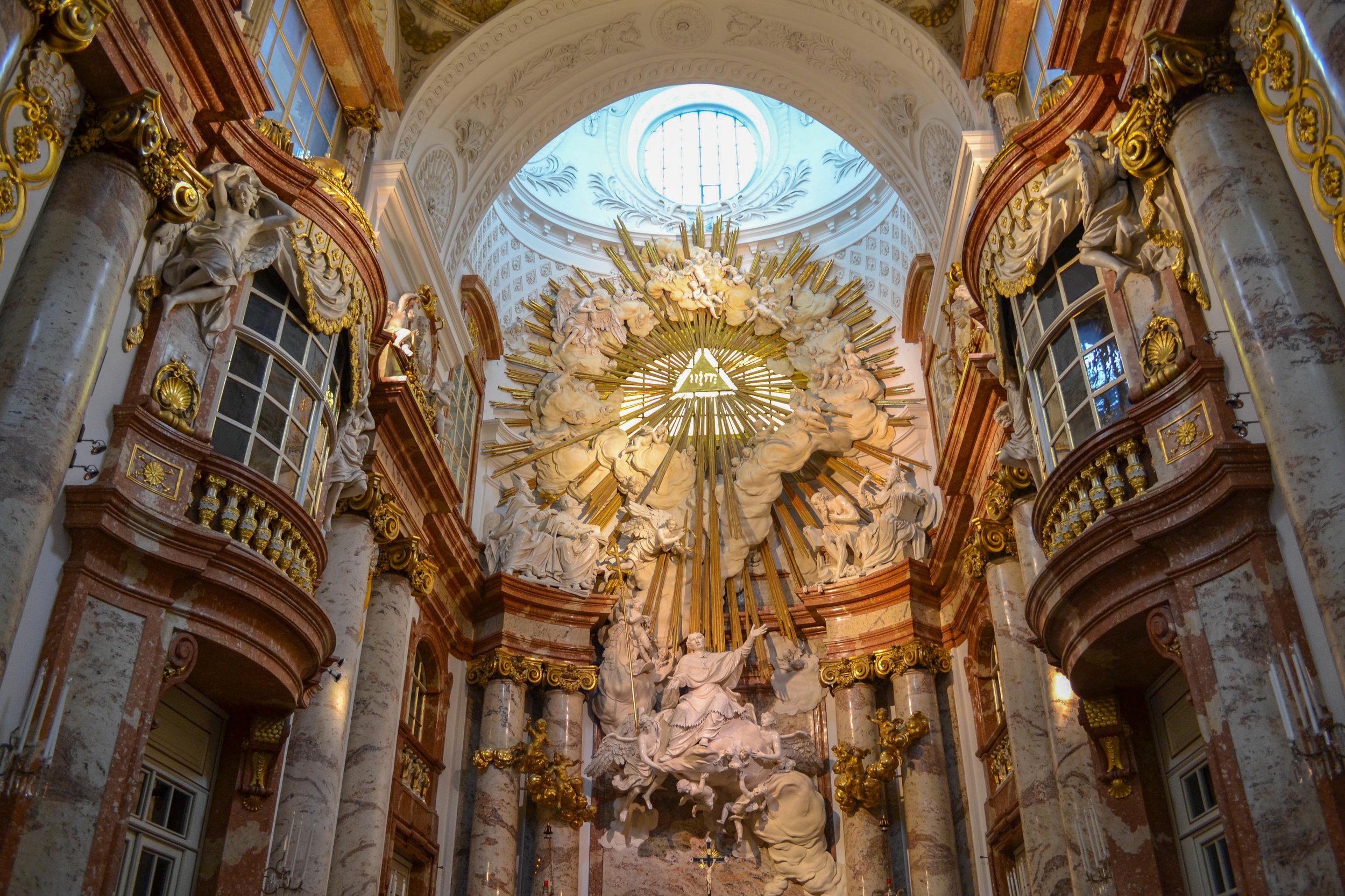 Karlskirche High Altar