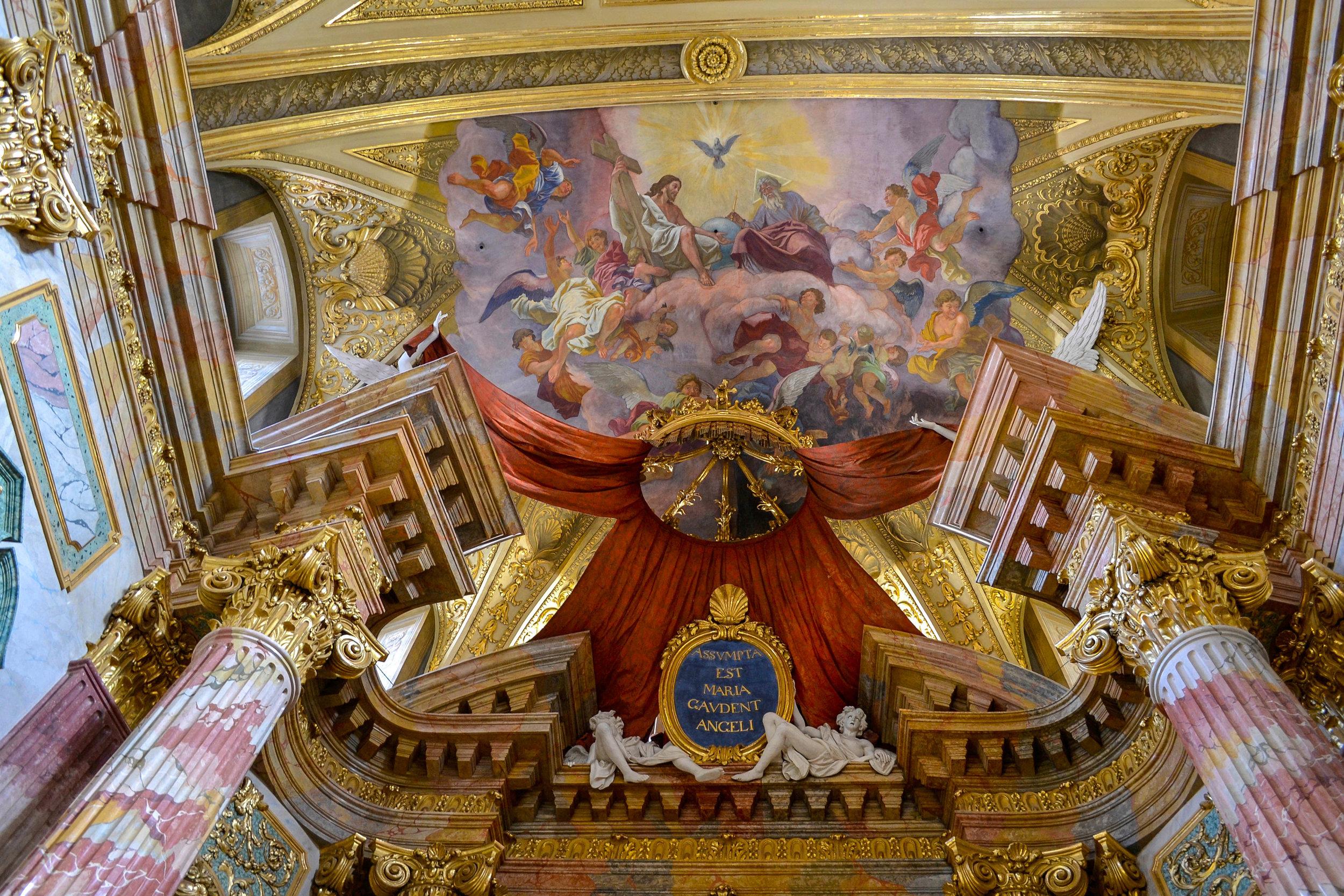 Jesuit Church Ceiling Painting