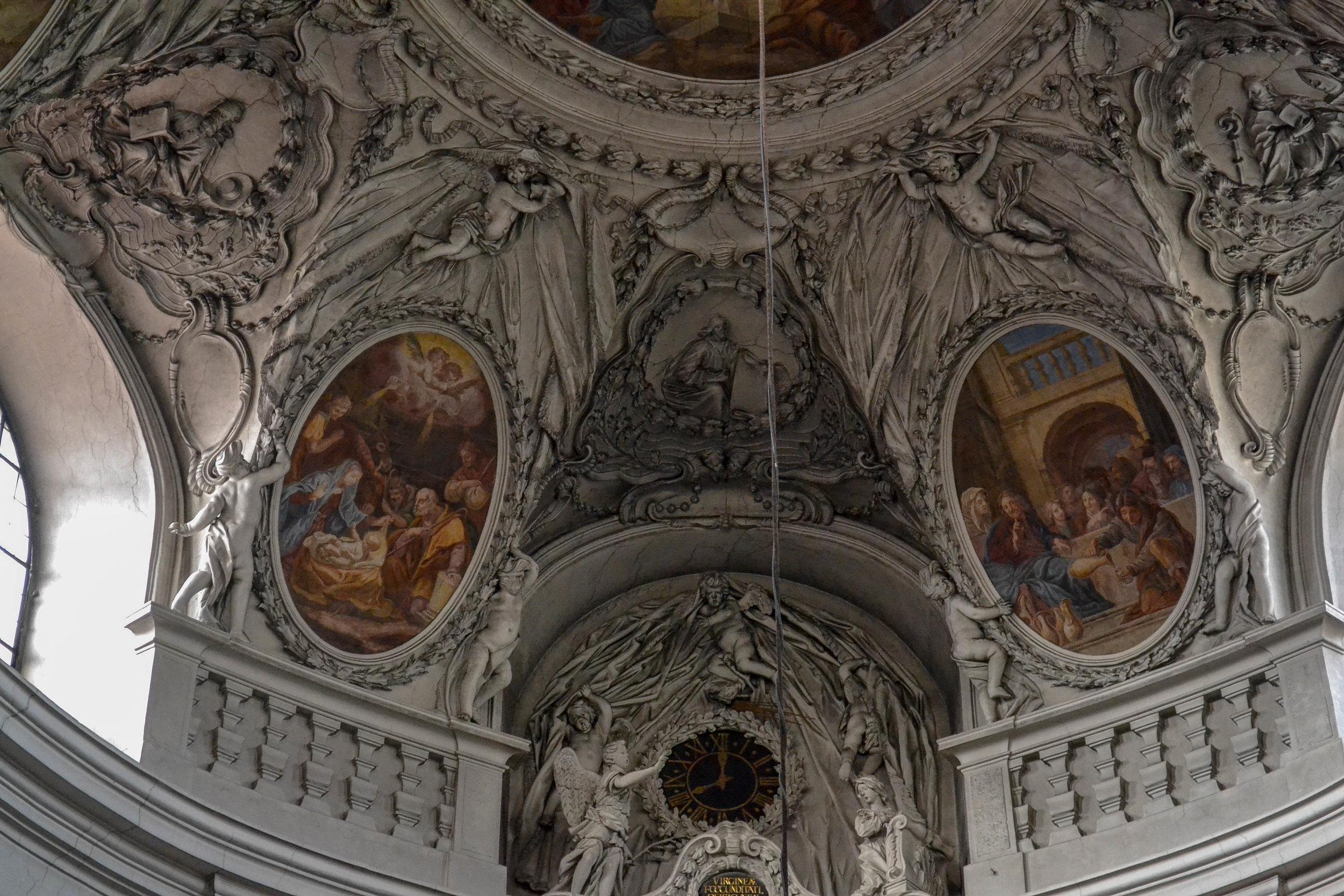 Servite Church Stucco