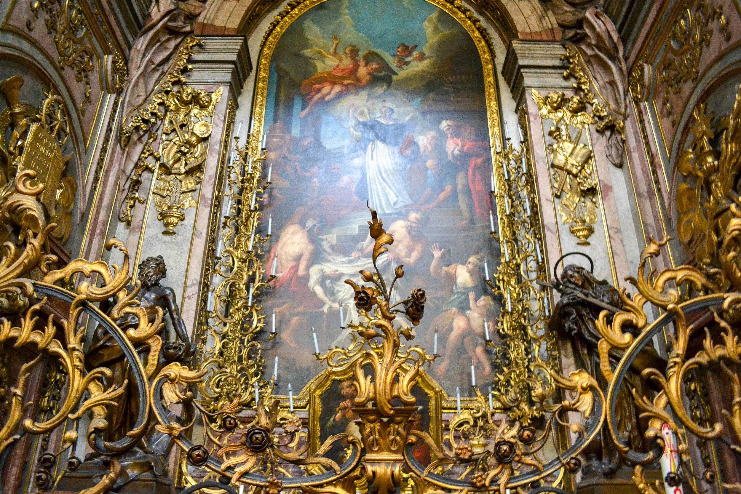 Dominican Church Side Altar