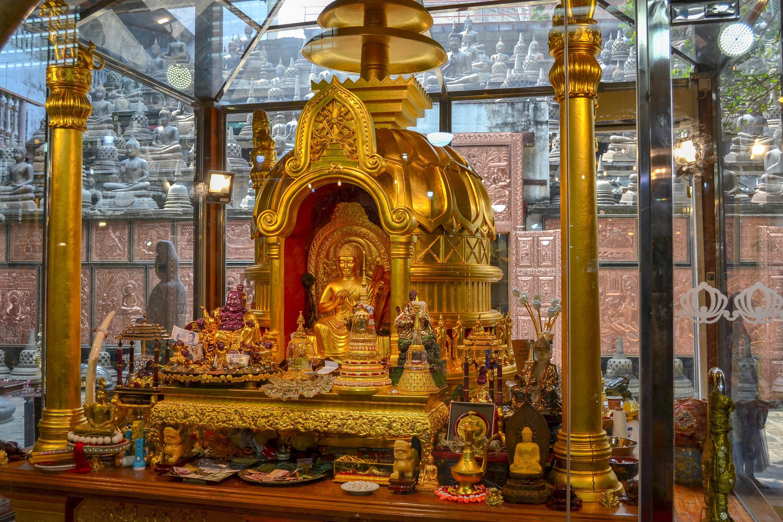 Gangaramaya Relic Museum