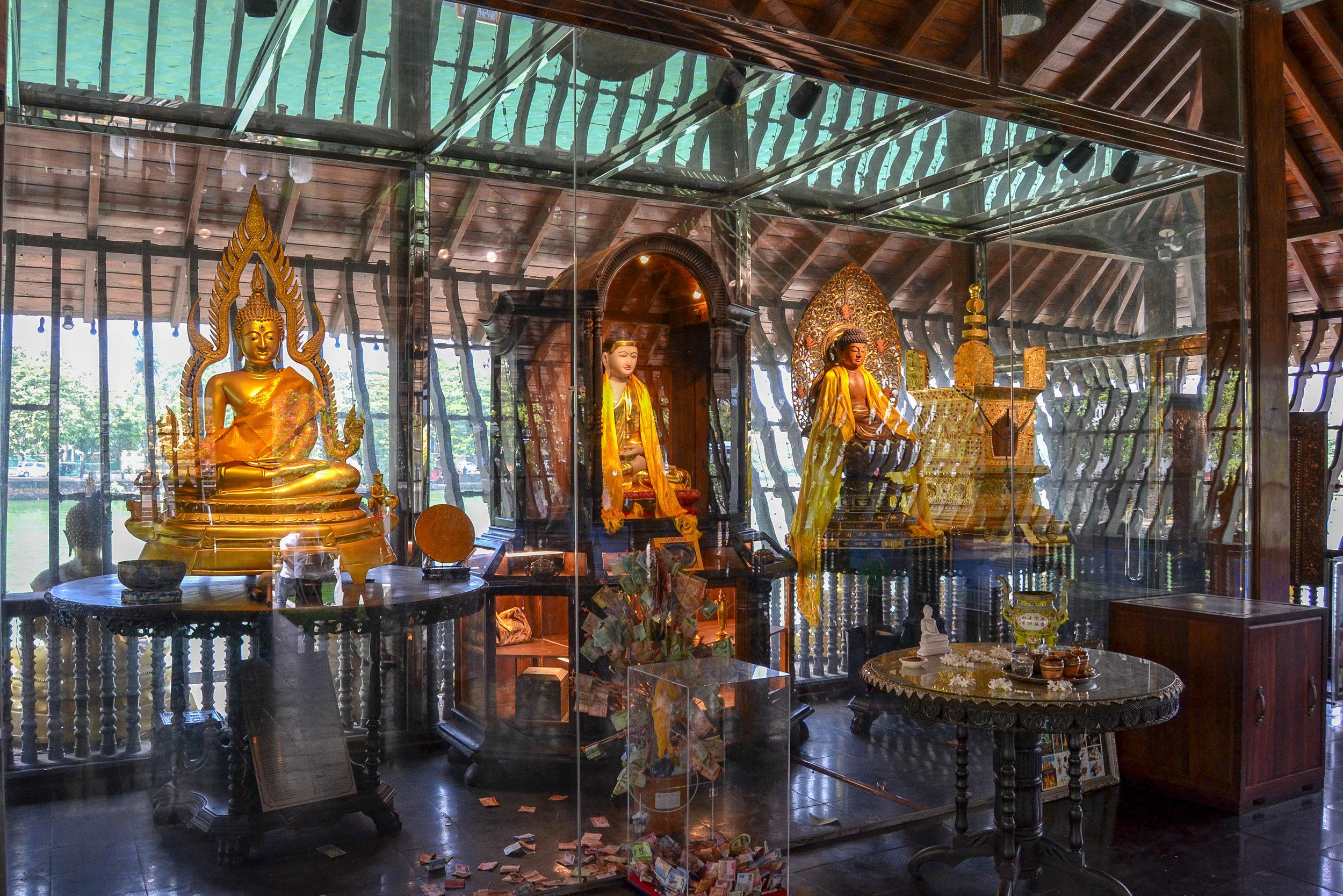 Central Temple Interior