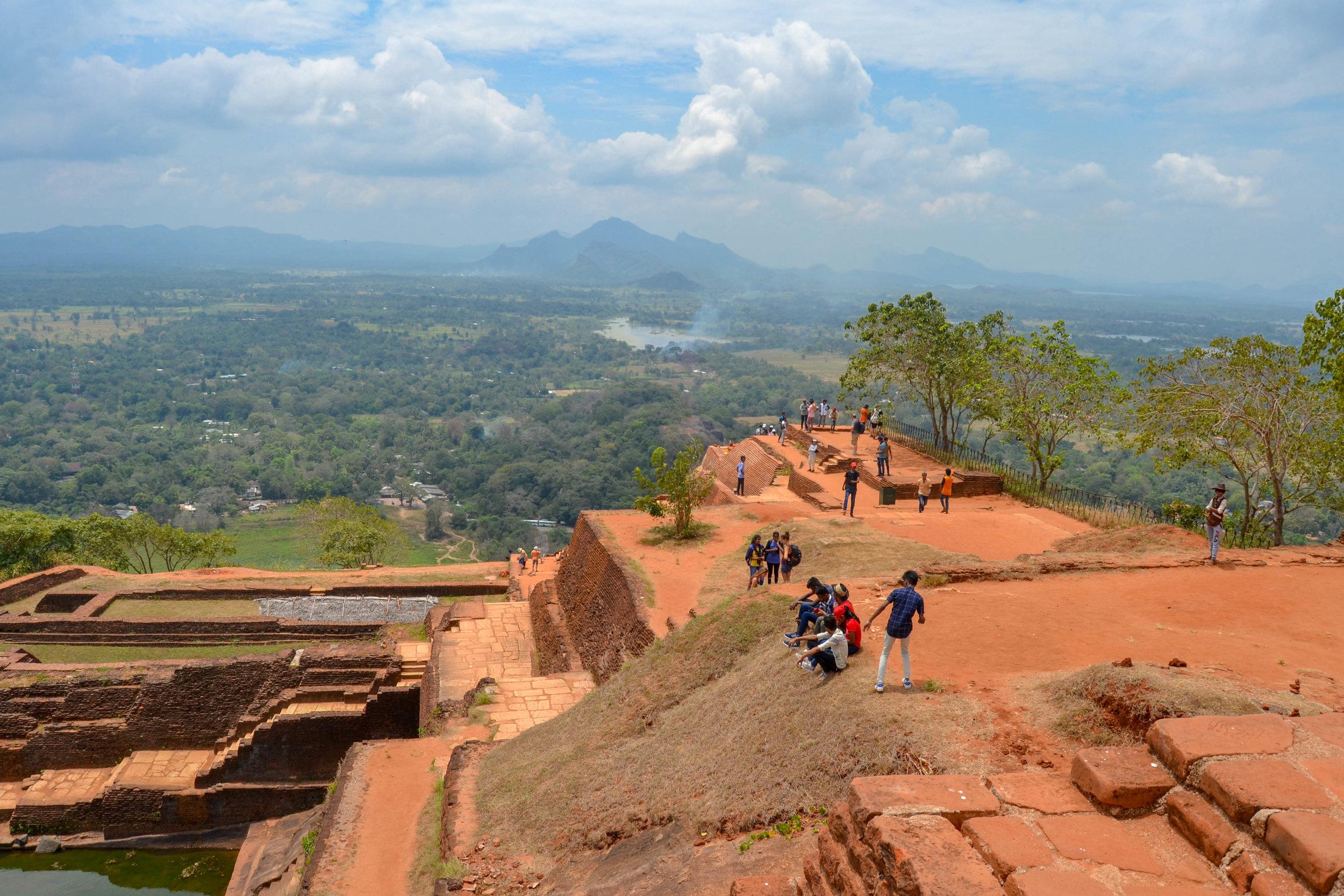 Sigiriya Rock Fortress Summit