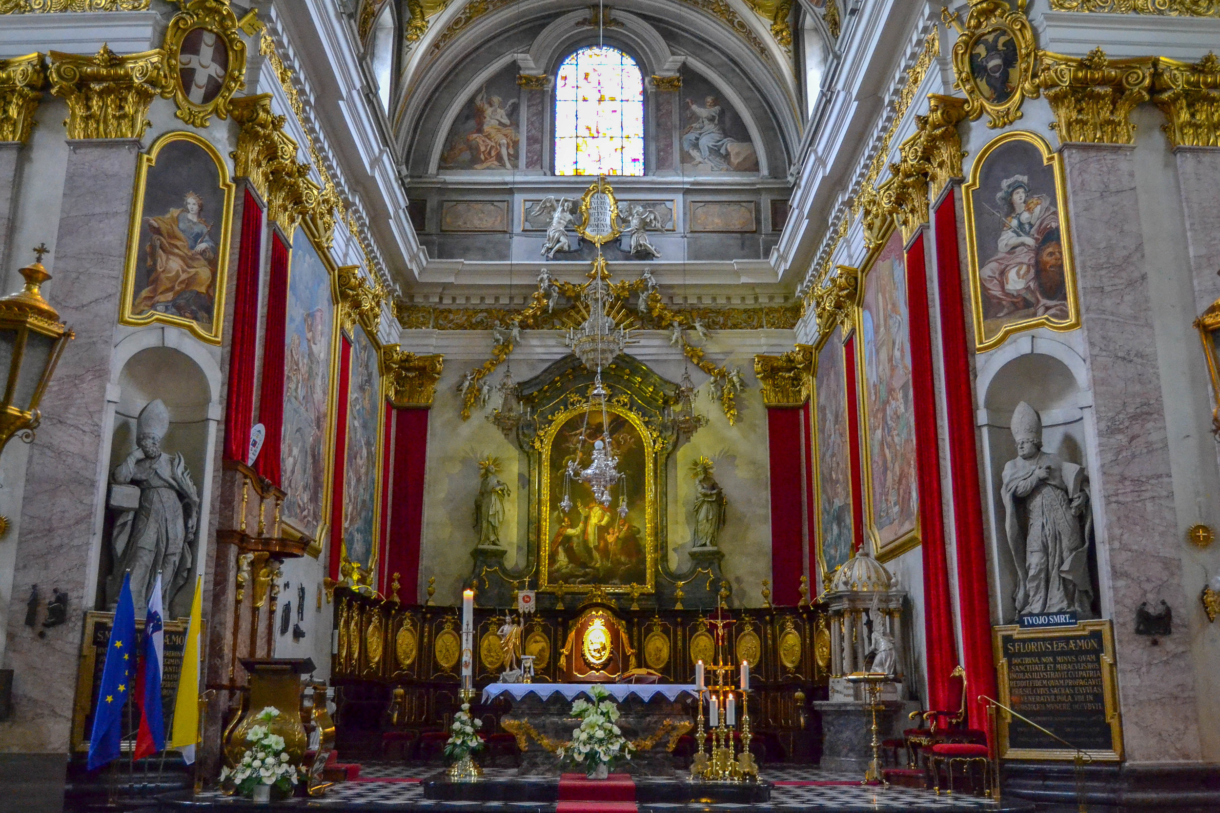 The High Altar of Ljubljana Cathedral